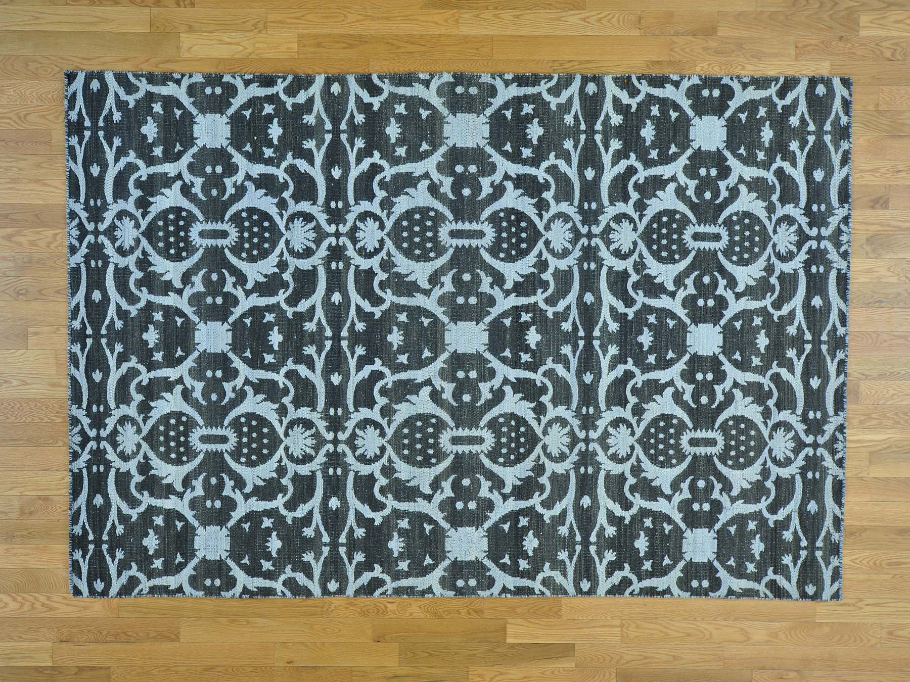 5-10 x8-8  Killim Reversible Oriental Hand Woven Flat Weave Rug