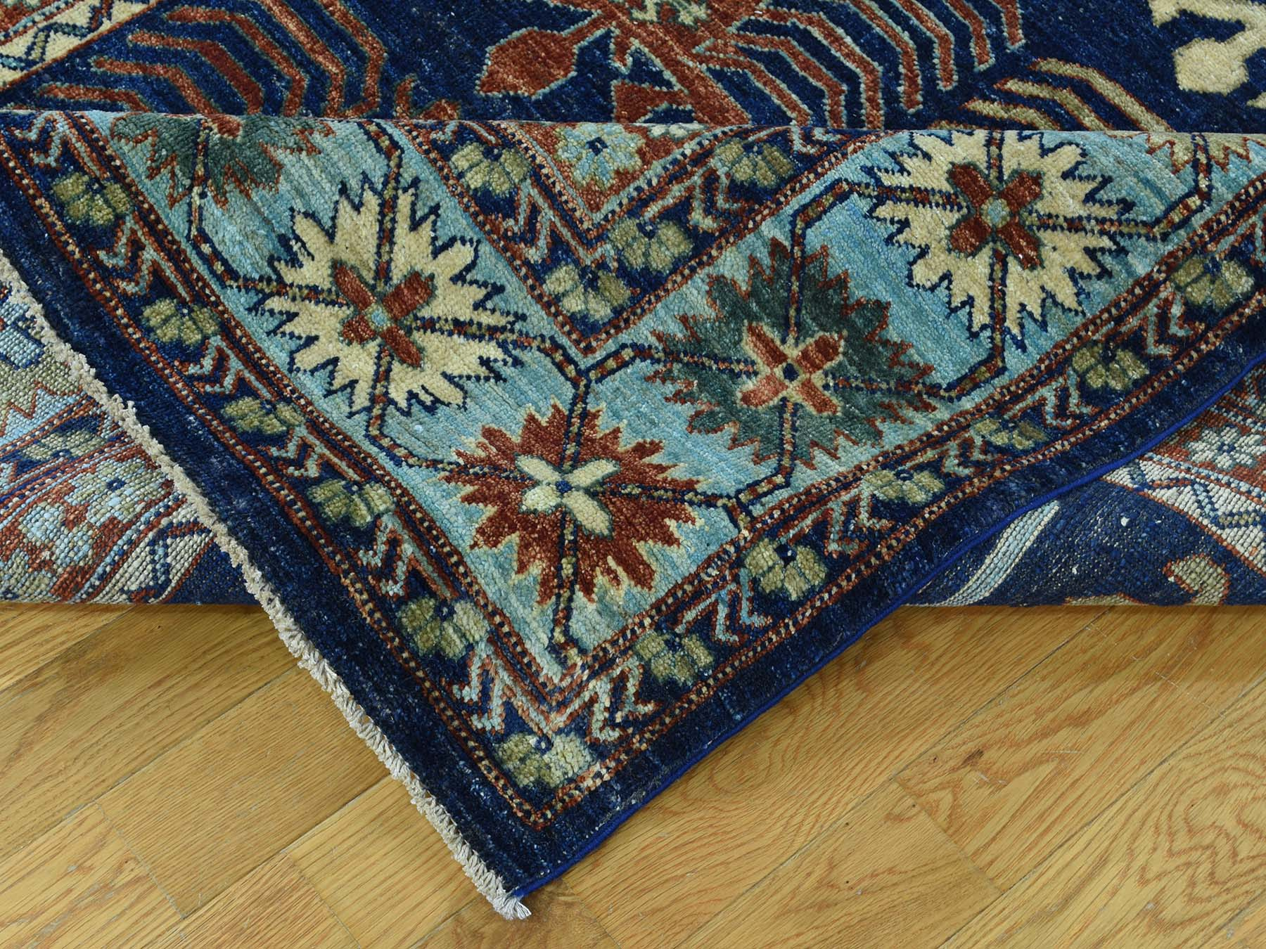 5-2 x8-2  Hand-Knotted Turkoman Ersari 100 Percent Wool Oriental Carpet