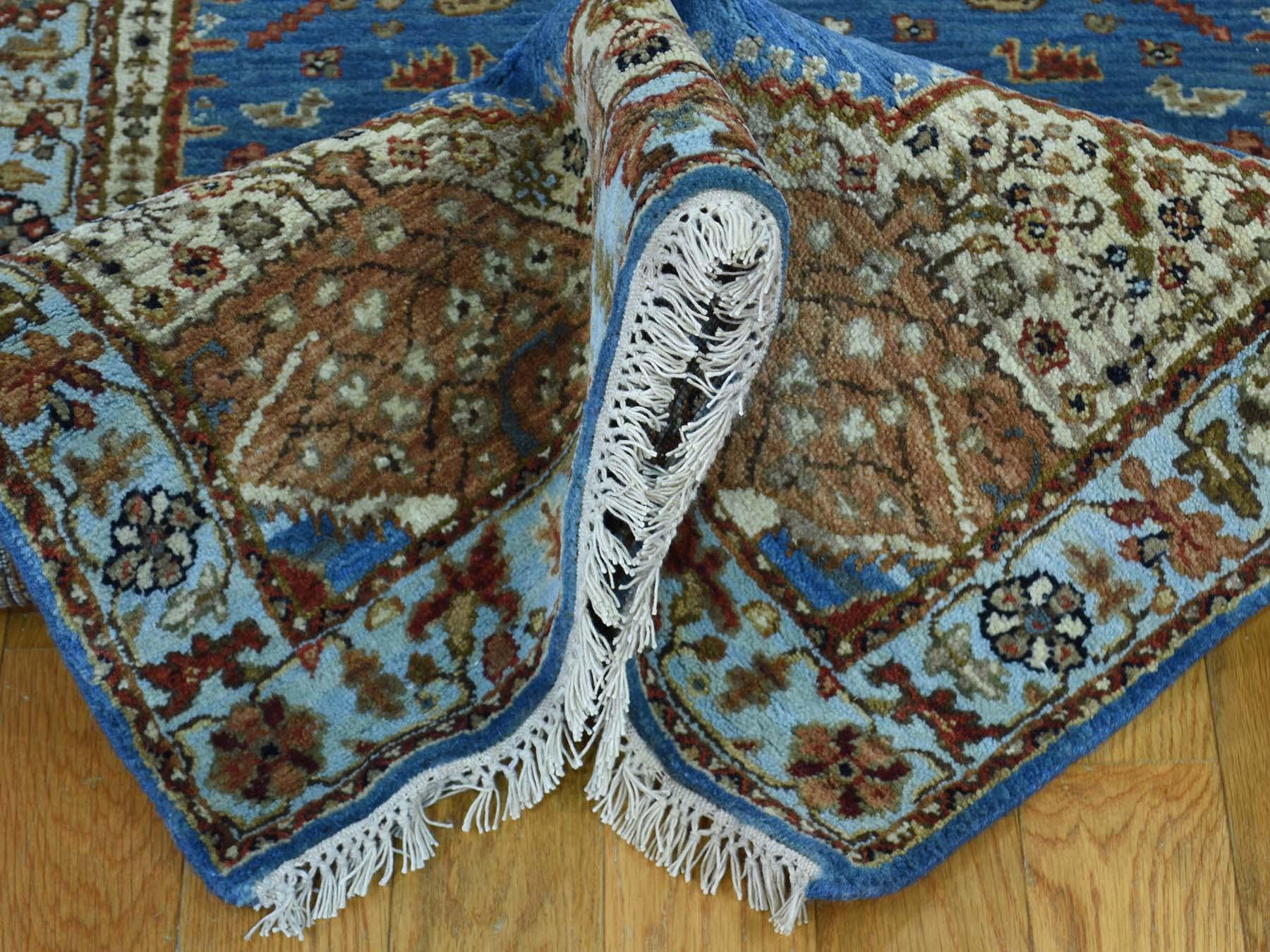2-7 x18-6  XL Runner Antiqued Bakshaish Natural Dyes 300 Kpsi Rug
