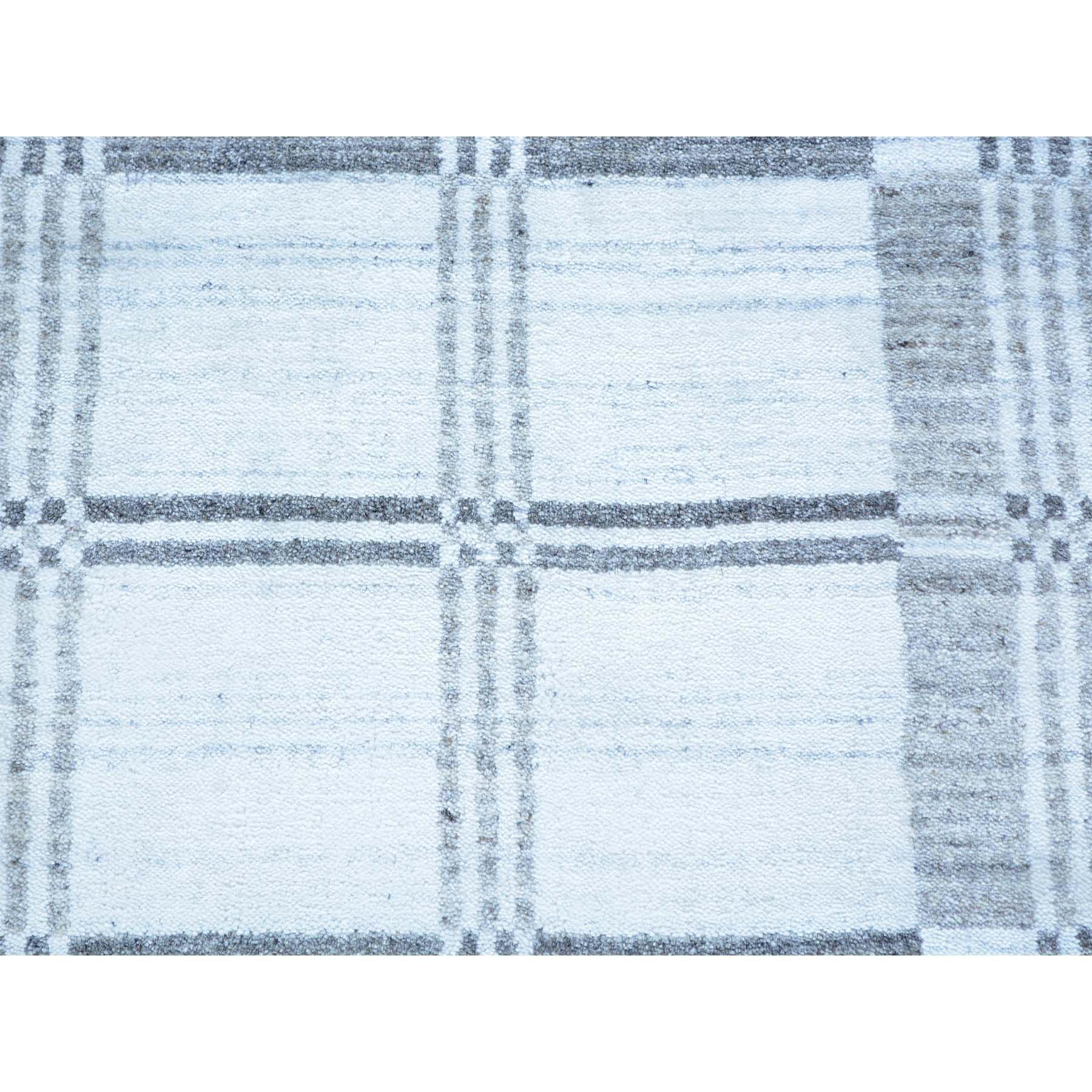 2- x 3- 100% Wool Hand Loomed Modern Geometric Design Oriental Rug