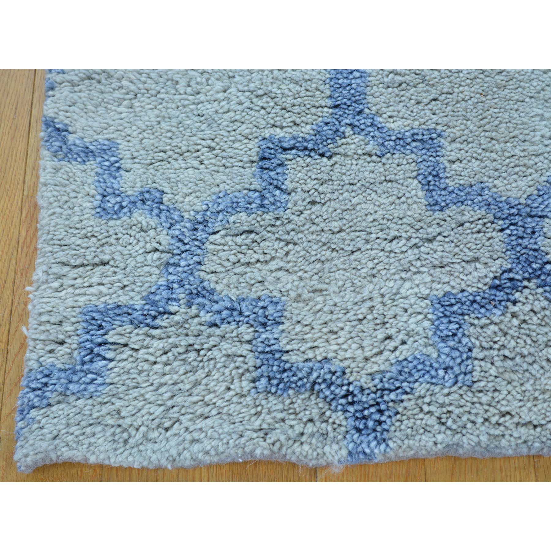 2-1 x3- Hand Knotted Thick and Plush Moroccan Berber Oriental Rug