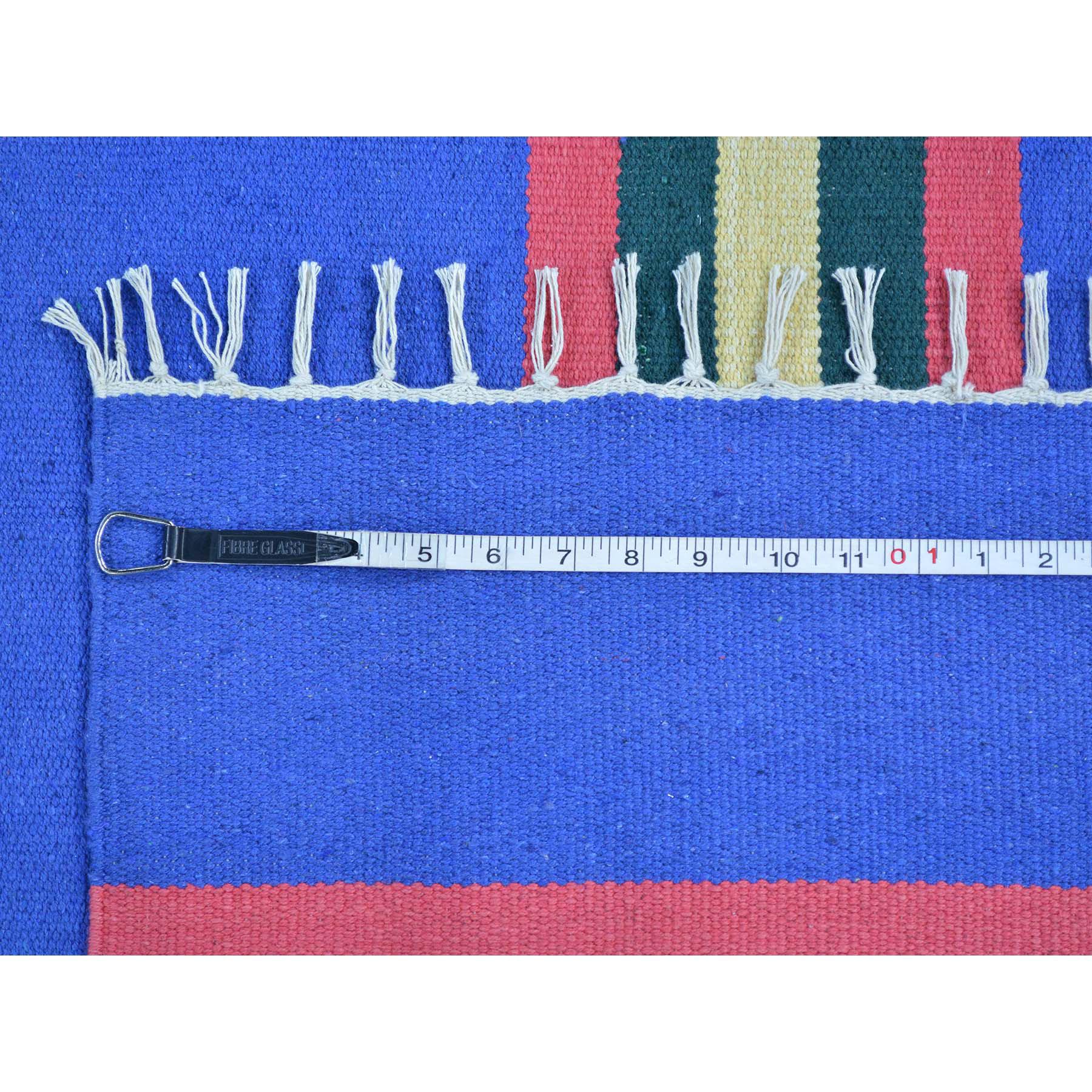 8-10 x12-1  Navajo Design Flat Weave Hand Woven Killim Rug