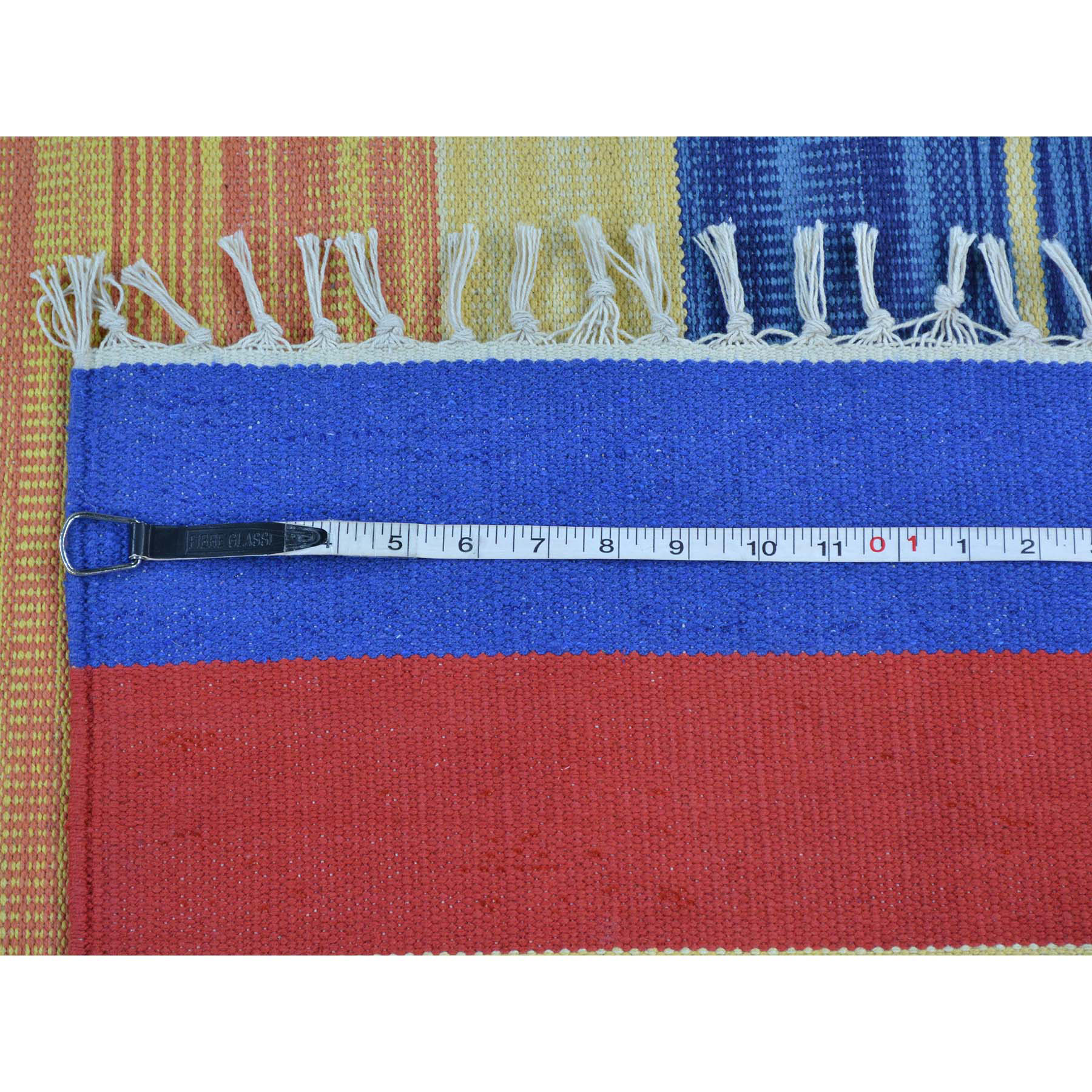 4-x6- Flat Weave Killim Hand Woven Navajo Design Rug