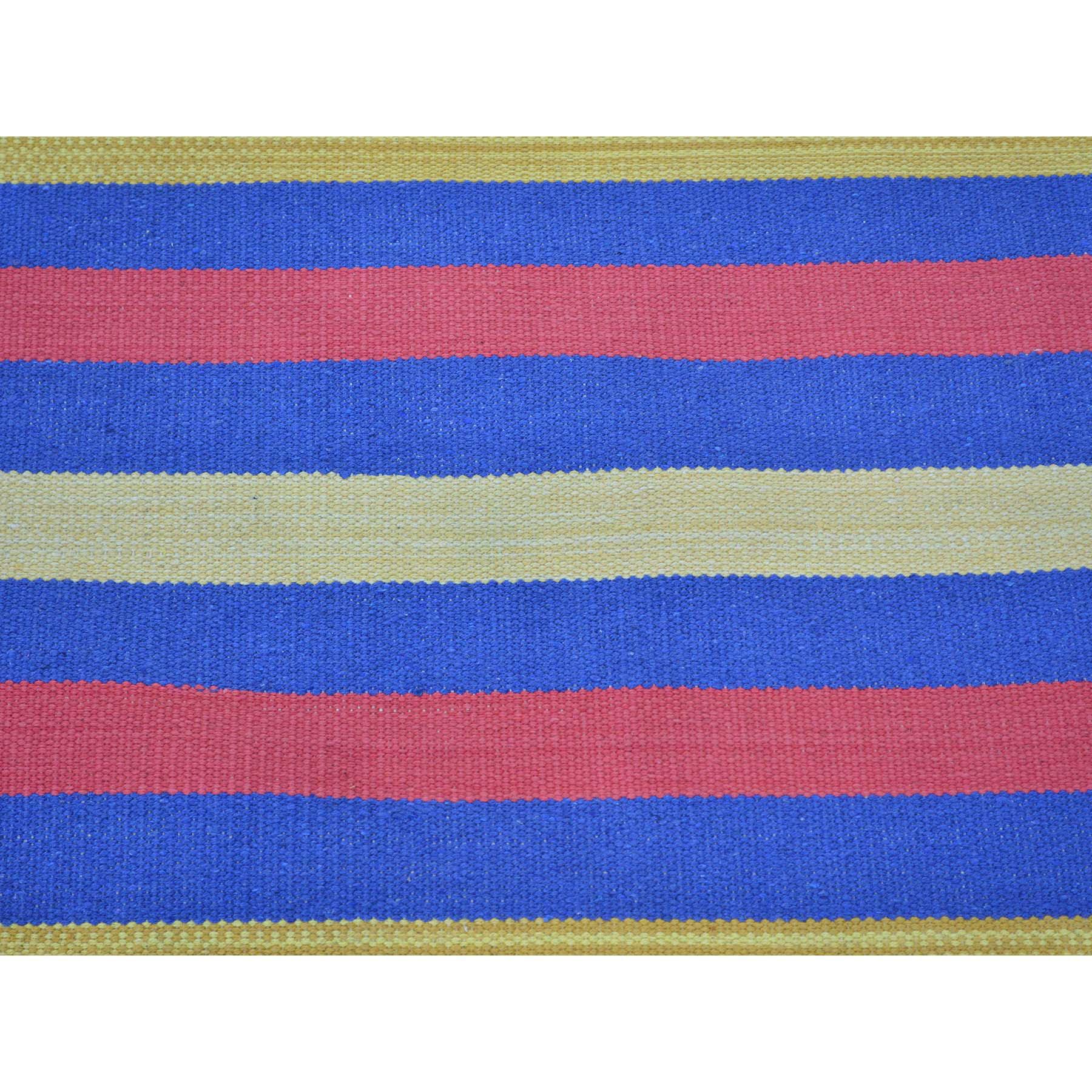 5-x7-1  Flat Weave Hand Woven Navajo Design Reversible Killim Rug