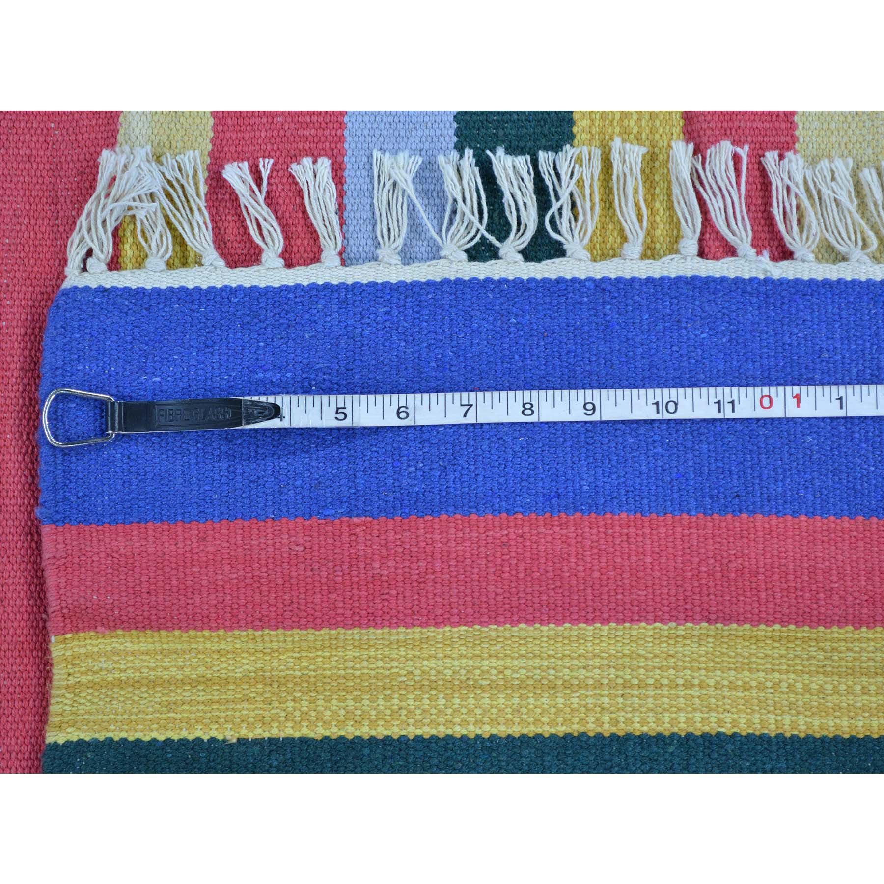 5-x7-1  Navajo Design Flat Weave Kilim Hand Woven Oriental Rug