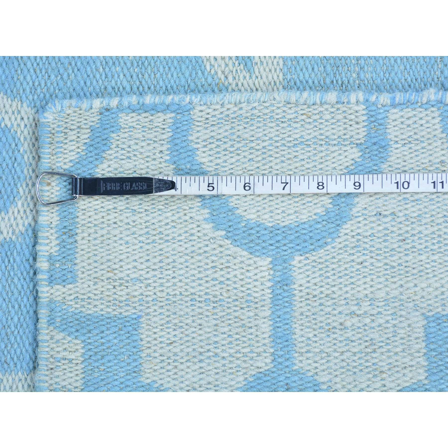 2-8 x7-10  Reversible Runner Flat Weave Killim Hand Woven Rug