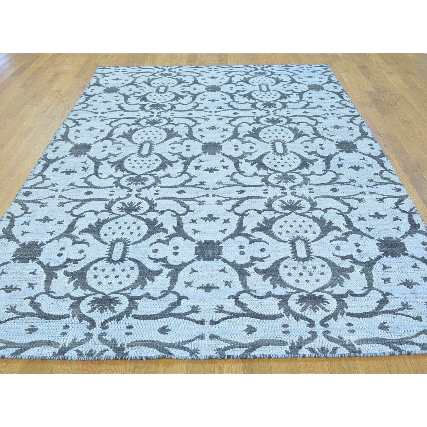 5-10 x8-8  Killim Reversible Oriental Hand Woven Flat Weave Rug