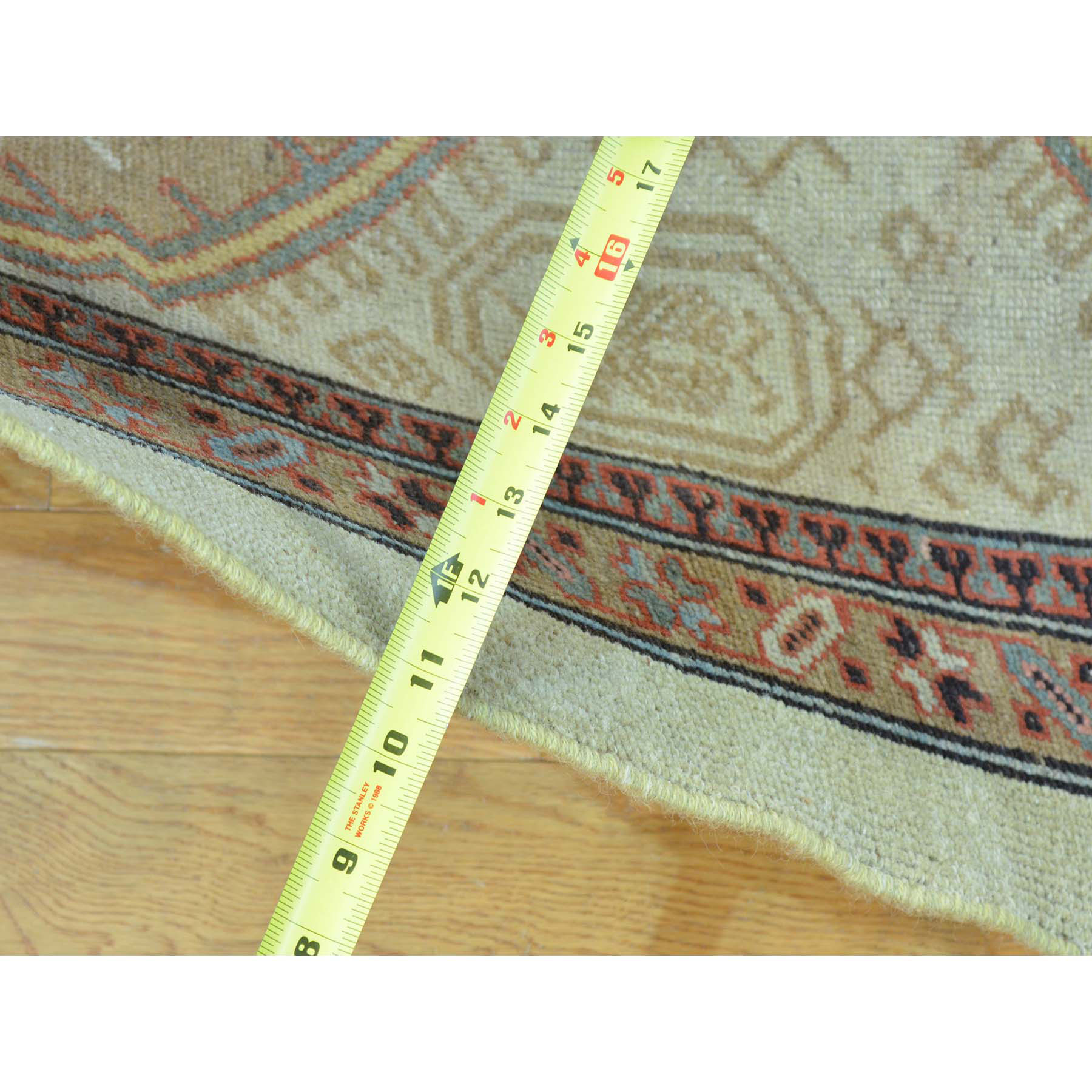 3-1 x14-3  XL Runner Antique Persian Serab Mint Cond Pure Wool Rug