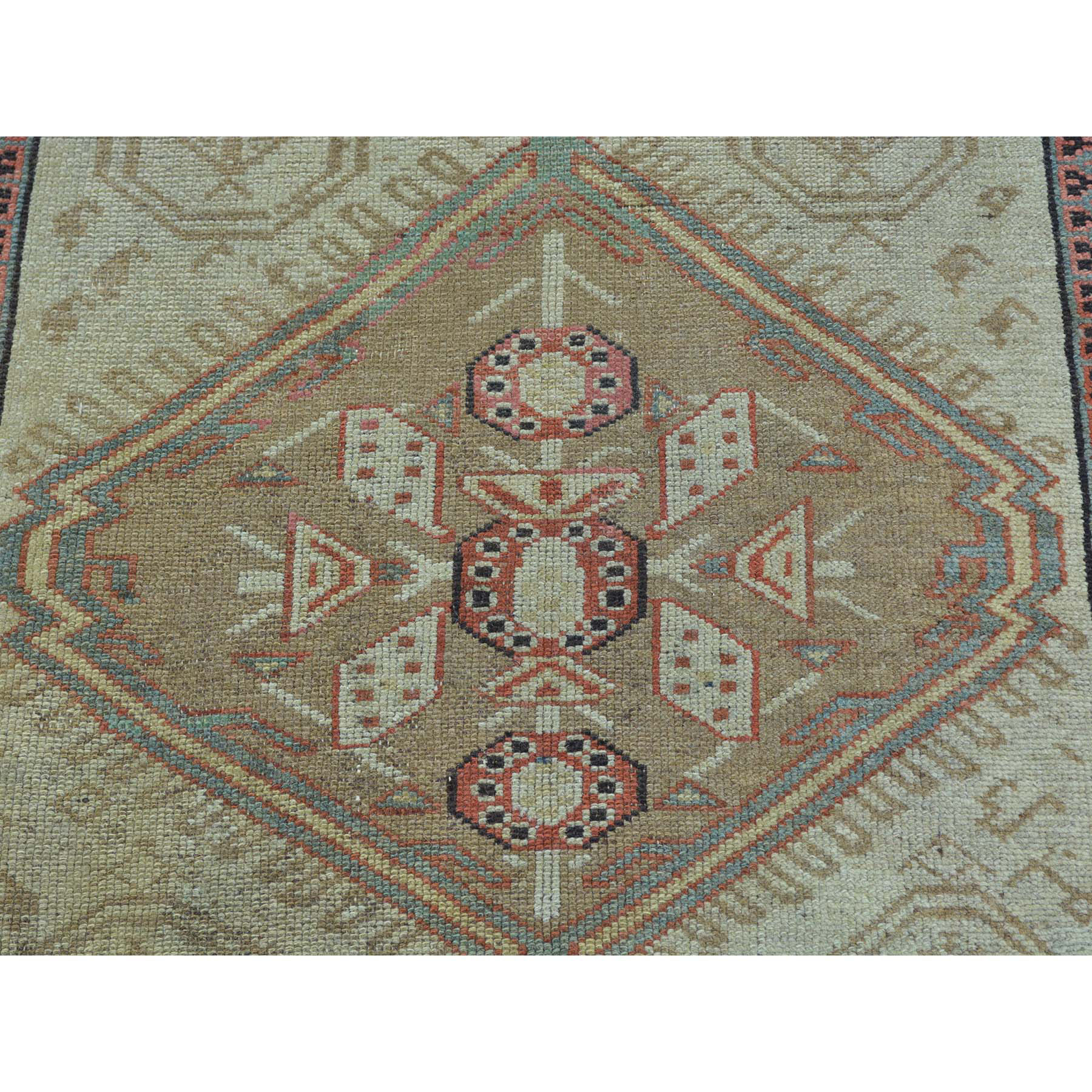 3-1 x14-3  XL Runner Antique Persian Serab Mint Cond Pure Wool Rug