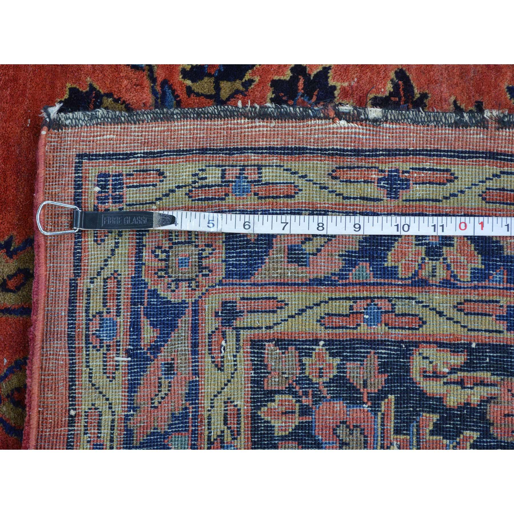 12-4 x19-3  Antique Persian Maharajan Sarouk Full Pile and Soft Rug