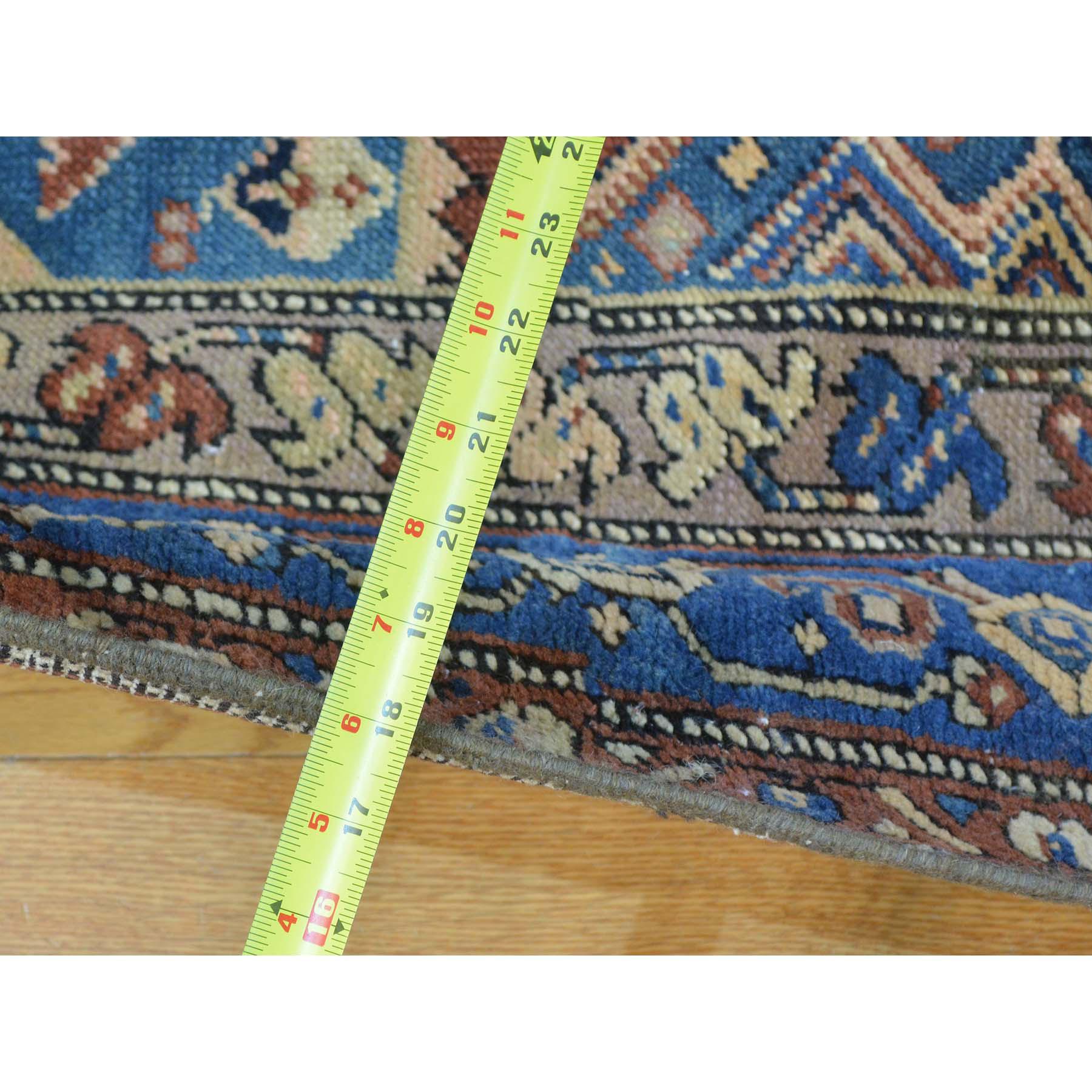 3-7 x14-2  Antique North West Persian Even Wear Wide Runner Oriental Rug