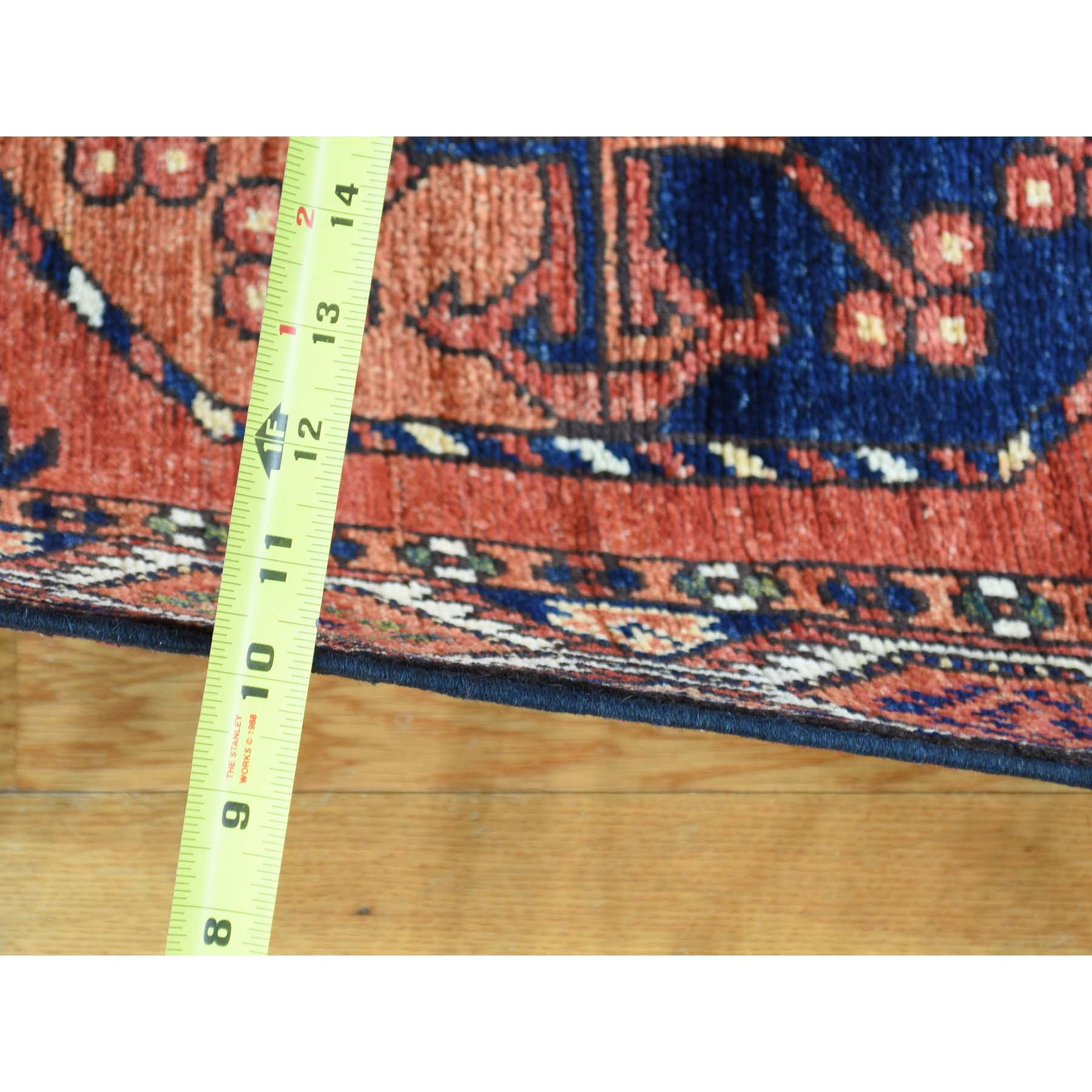 2-10 x10-4  Hand-Knotted Afghan Ersari Runner Pure Wool Oriental Rug