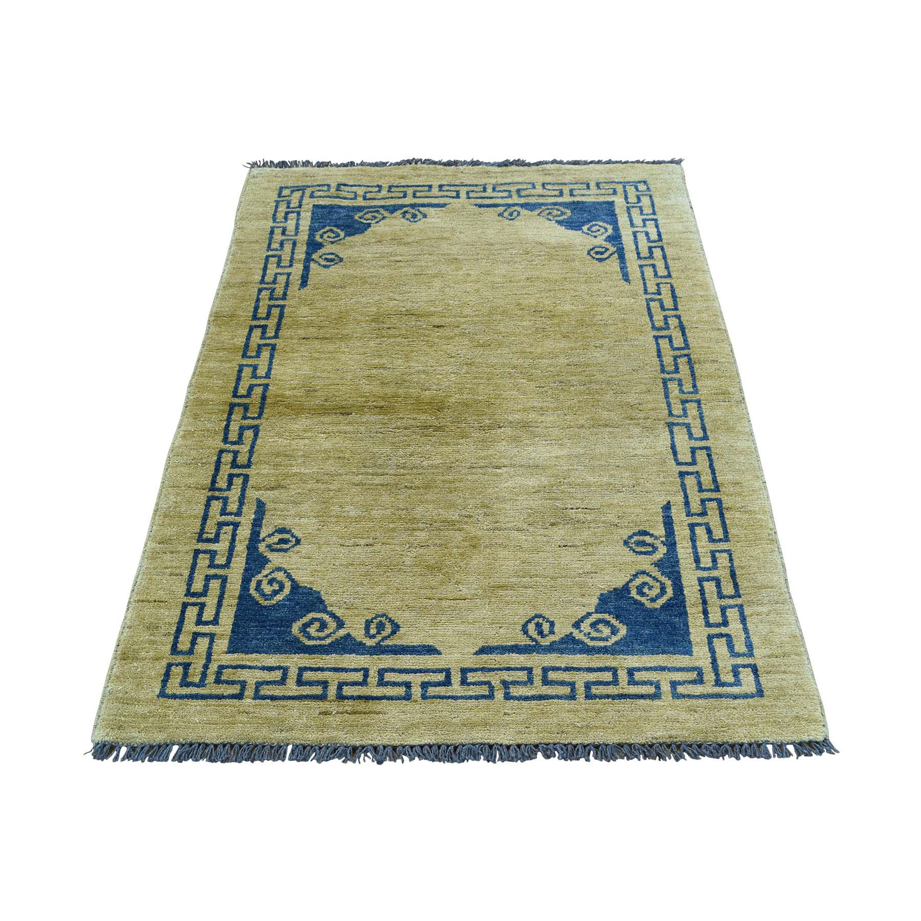 "2'9""X4'1"" Hand-Knotted Peshawar With Knotan Design Rug moacb6ae"