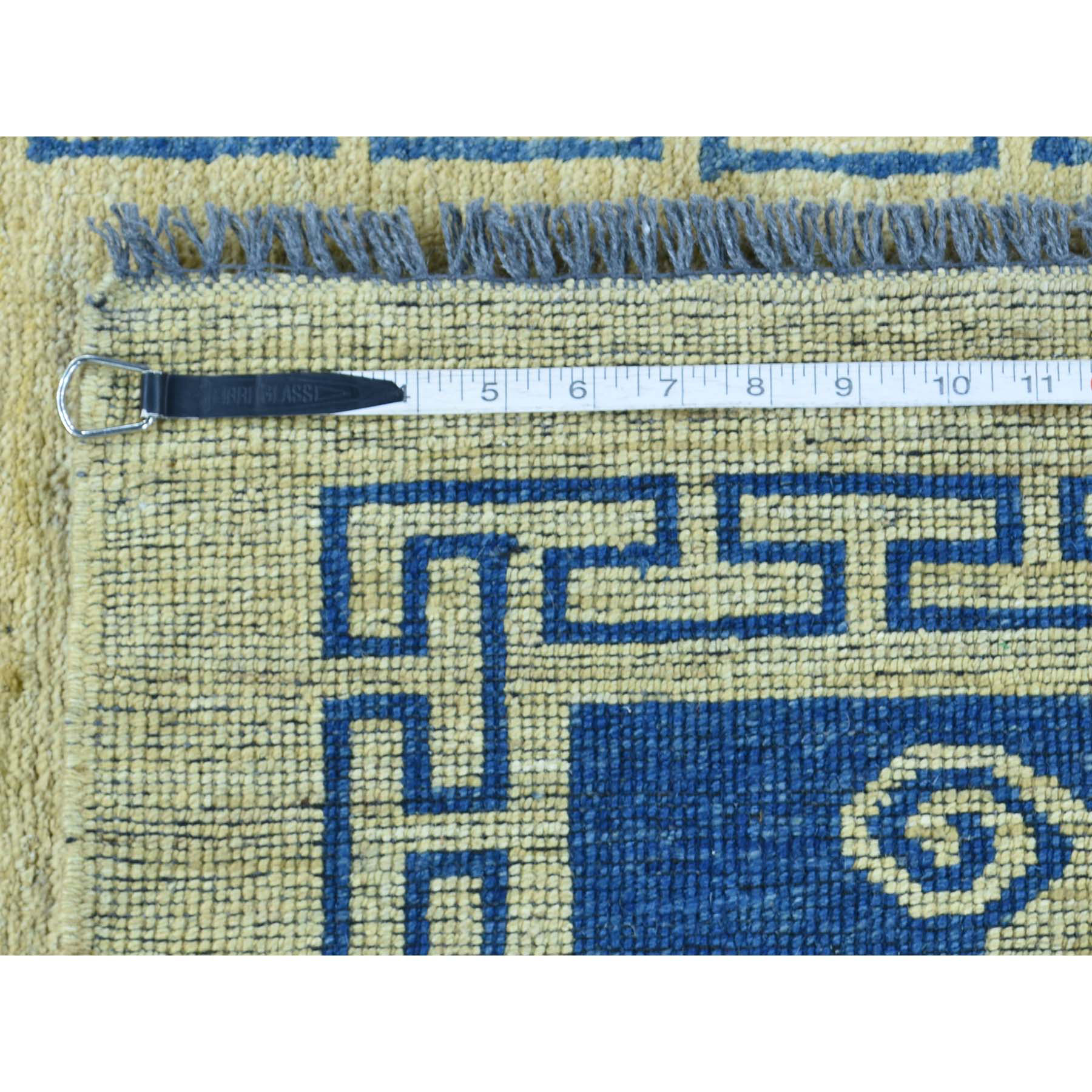 """2'9""""x4'1"""" Hand-Knotted Peshawar With Knotan Design Rug"""