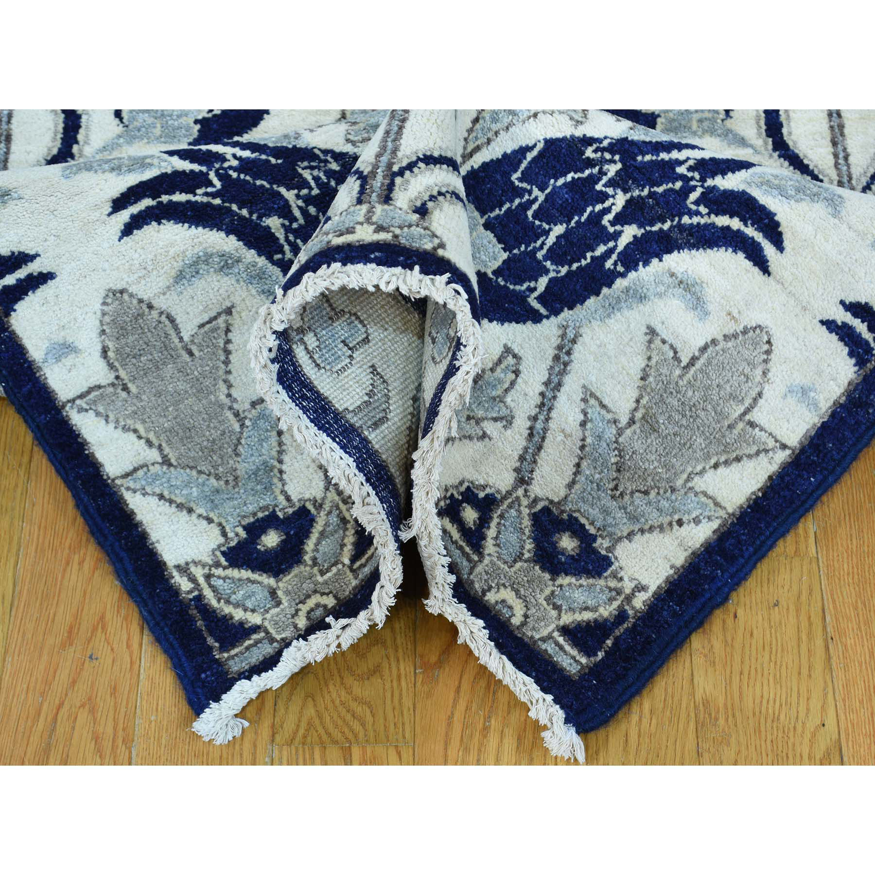 2-7 x12-1  On Clearance Hand-Knotted Arts And Crafts William Morris Design Runner Rug