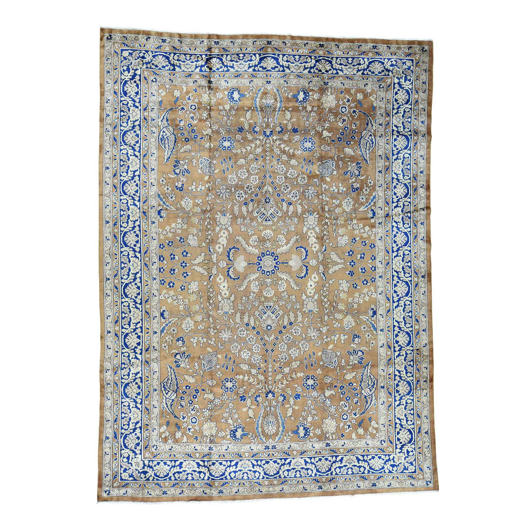 "9'9""X13'3"" Hand-Knotted Antique Persian Sarouk Exc Cond Oriental Rug moacce8d"
