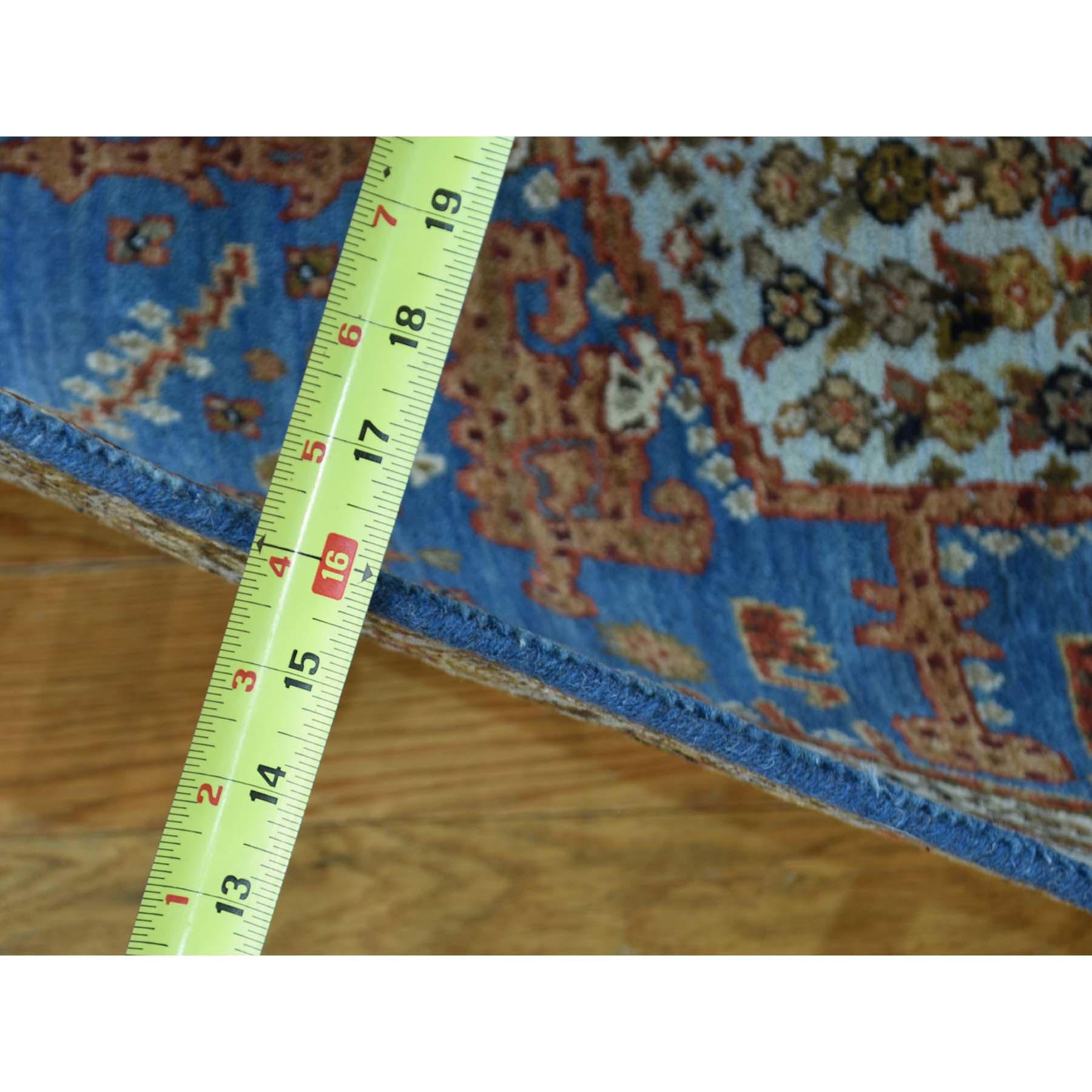 2-7 x18-6  XL Runner Antiqued Bakshaish Natural Dyes High KPSI Rug