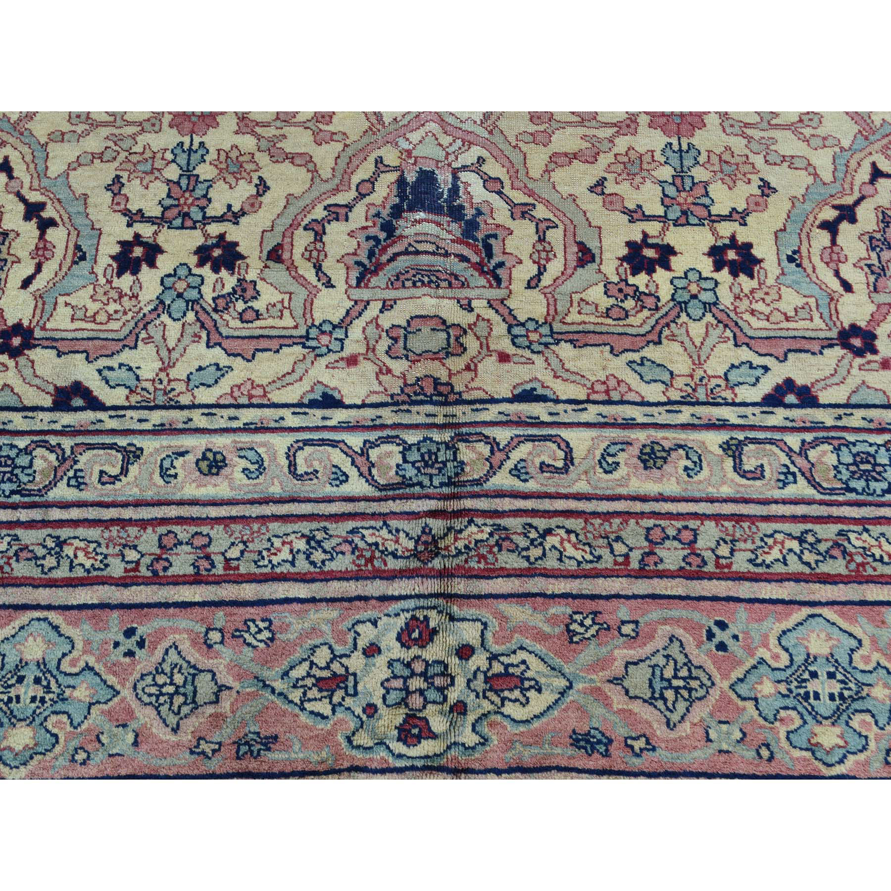 7-2 x12-6  Antique Turkish Sivas Mint Cond Gallery Size Hand-Knotted Rug