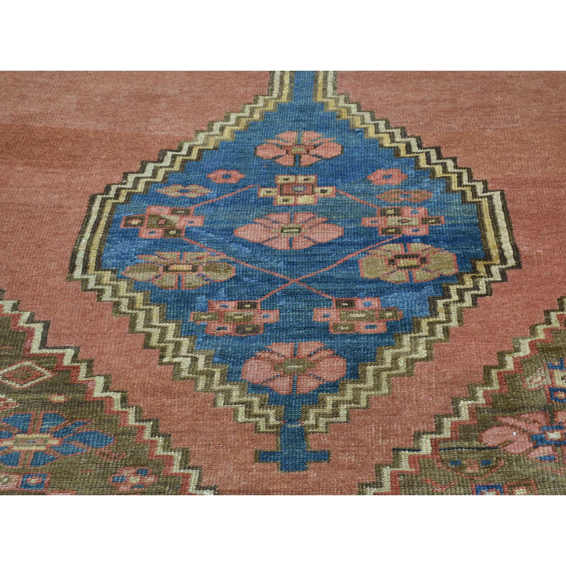 10-8 x14-1  Handmade Original Antique Persian Bakshaish Mint Cond Rug