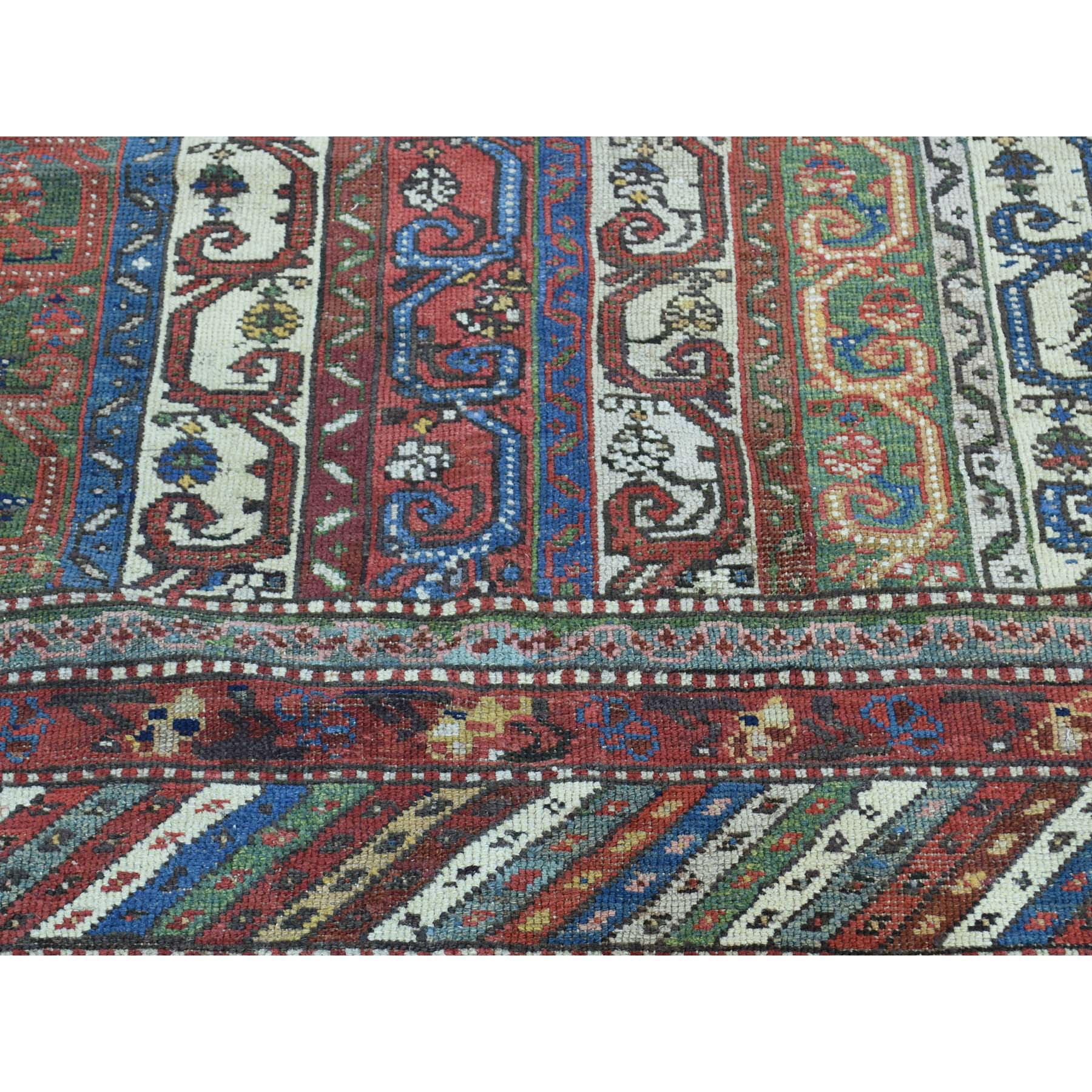 6-5 x15-6  Antique Northwest Persian With Shawl Design Wide Runner Rug