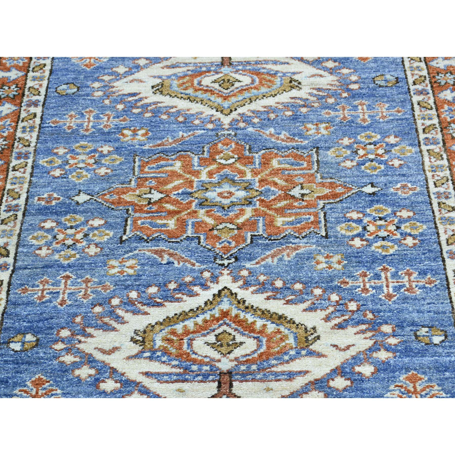 2-9 x5-10  Hand-Knotted Peshawar with Karajeh Design Oriental Runner Rug