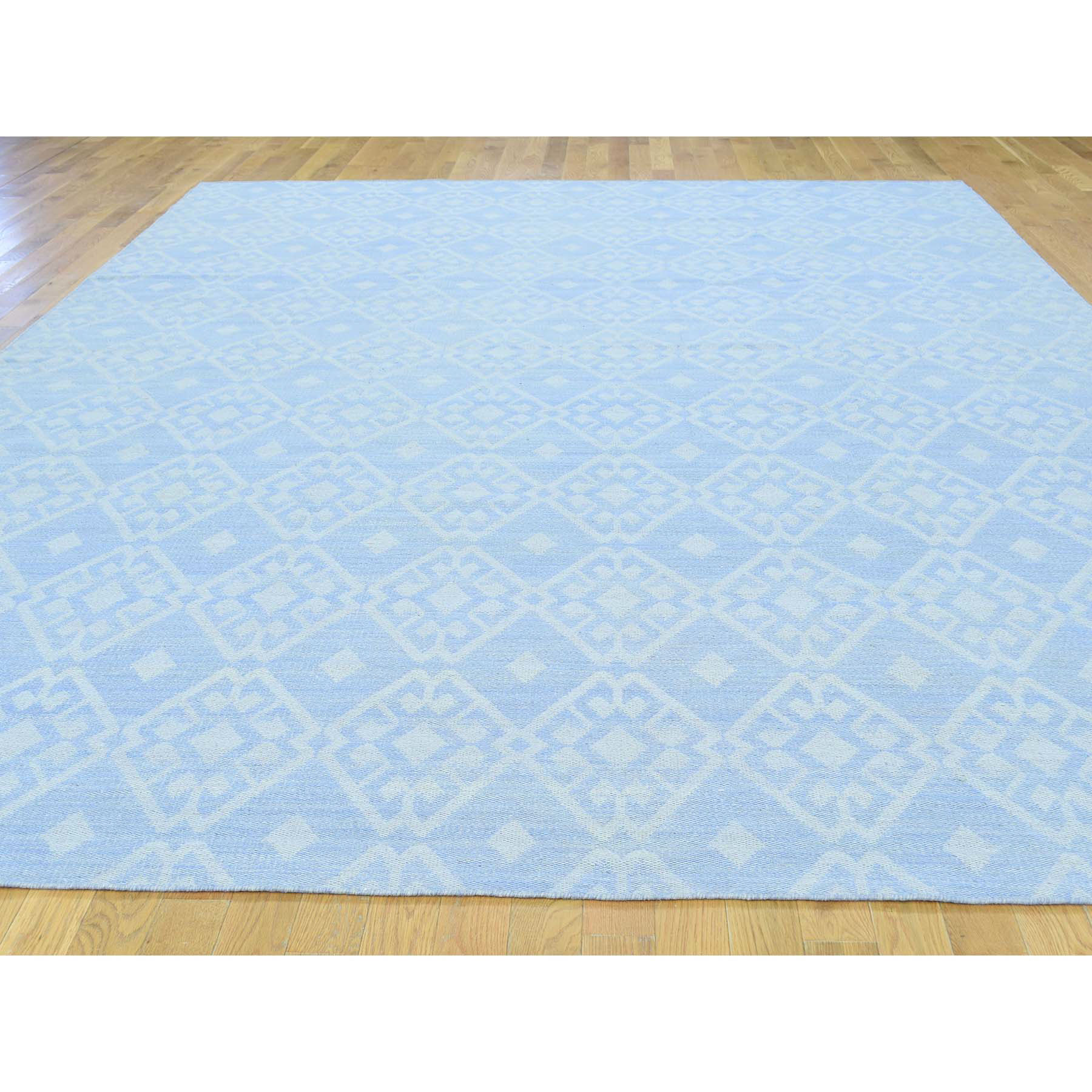 9-x12-1  Flat Weave Hand Woven Reversible Durie Kilim Oriental Rug