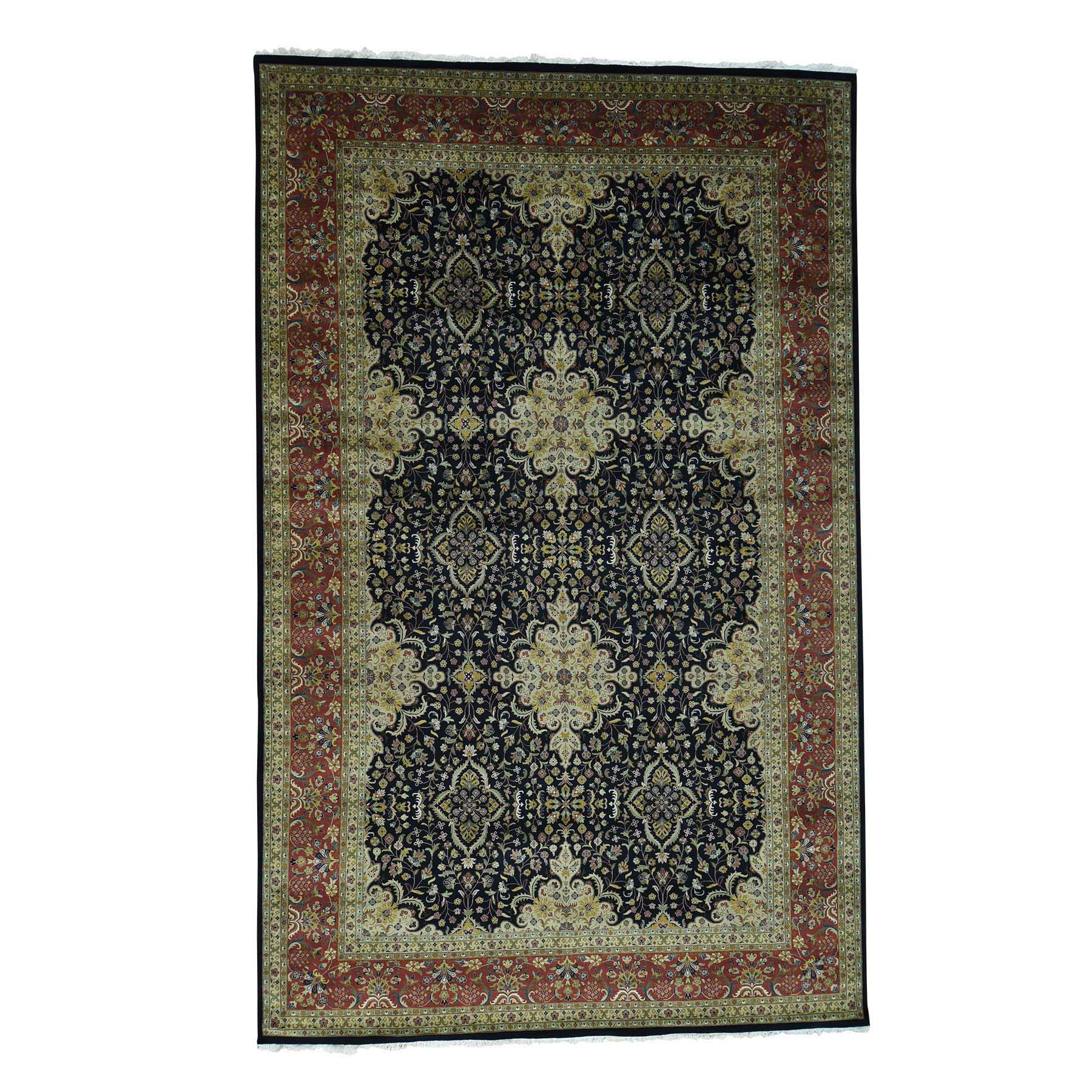 "10'X15'10"" Hand-Knotted Kashan Revival 300 Kpsi New Zealand Wool Gallery moace9ea"