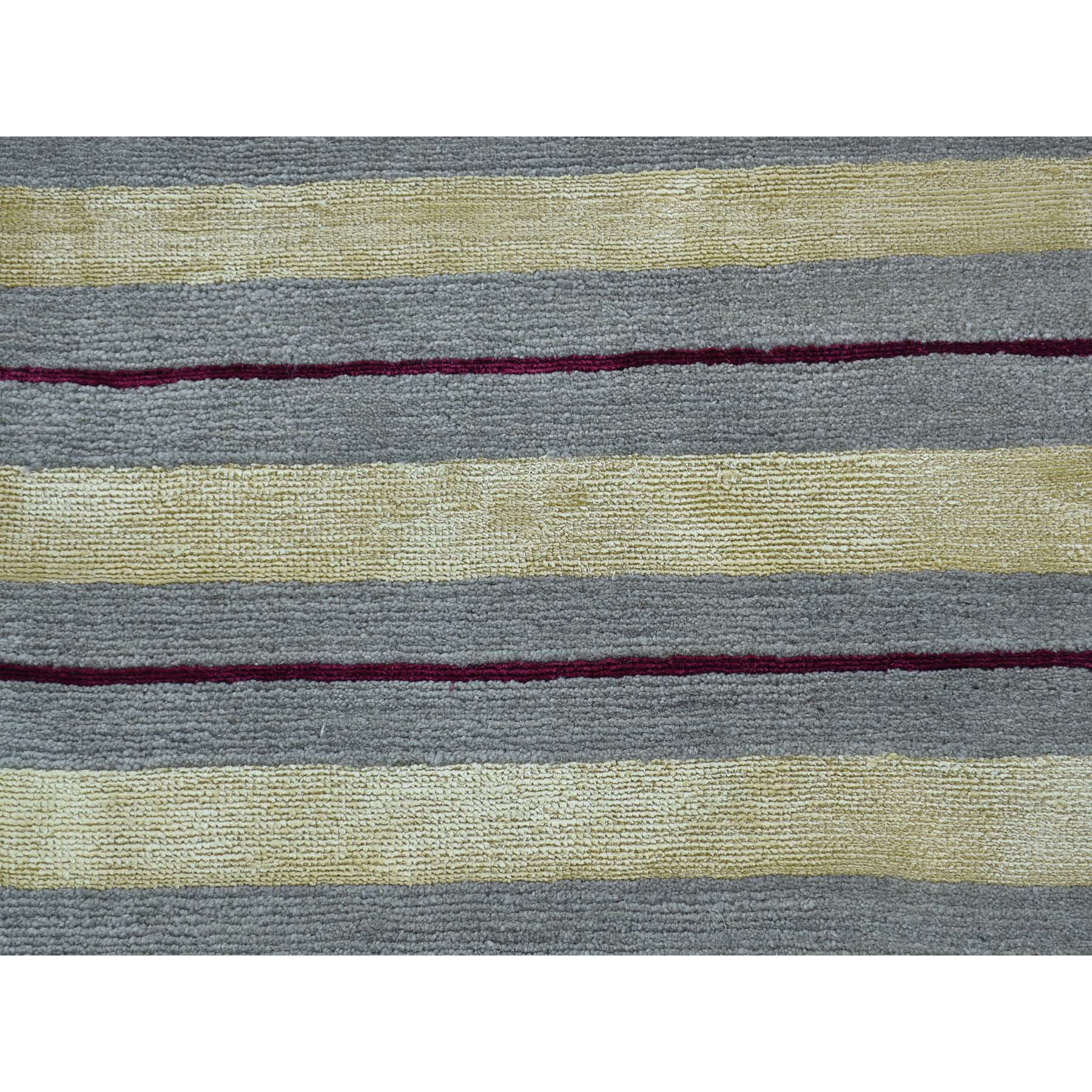 1-8 x2-7  Hand-Knotted Modern Nepali Wool and Silk Oriental Rug