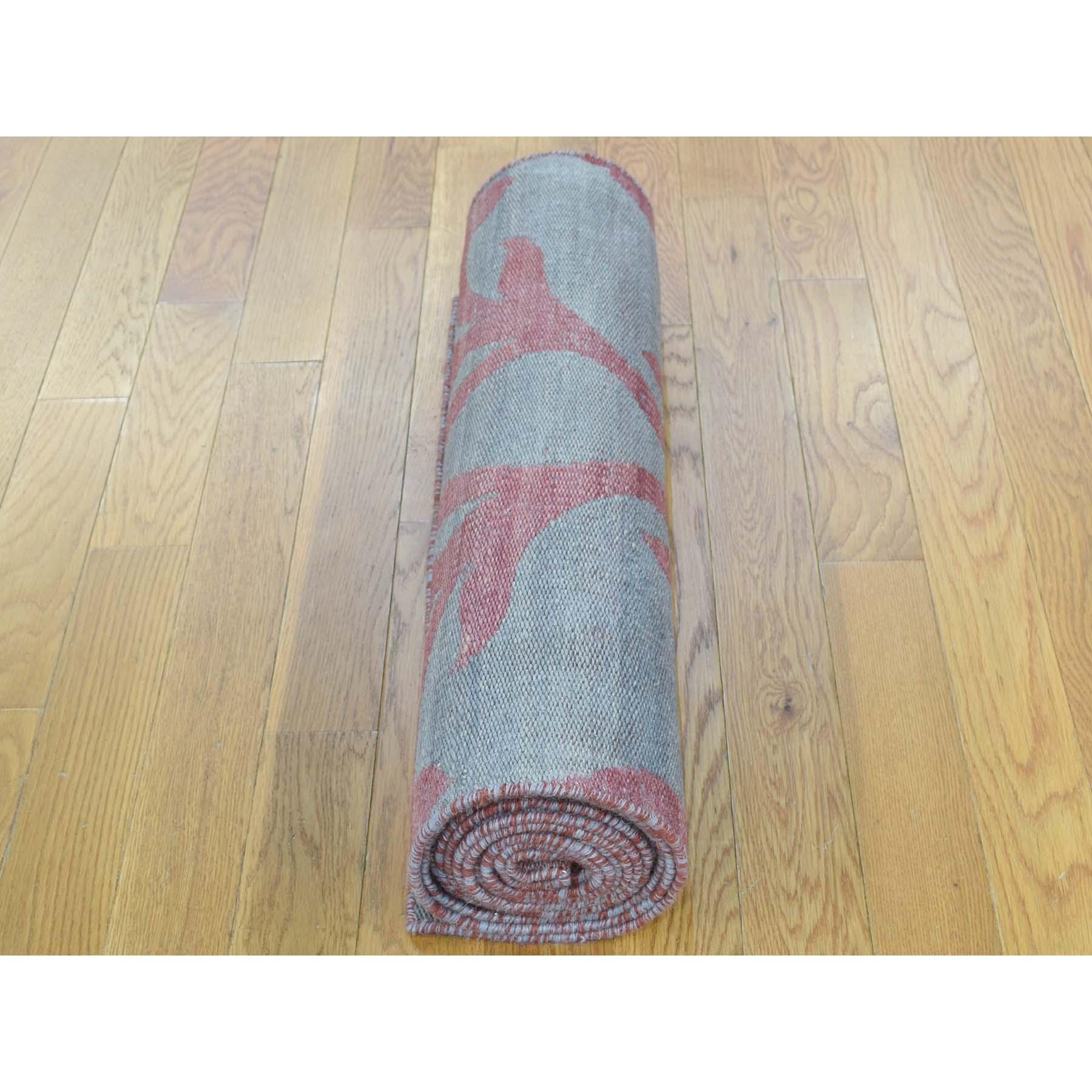 2-7 x8- Hand-Woven Durie Kilim Reversible Flat Weave Oriental Runner Rug