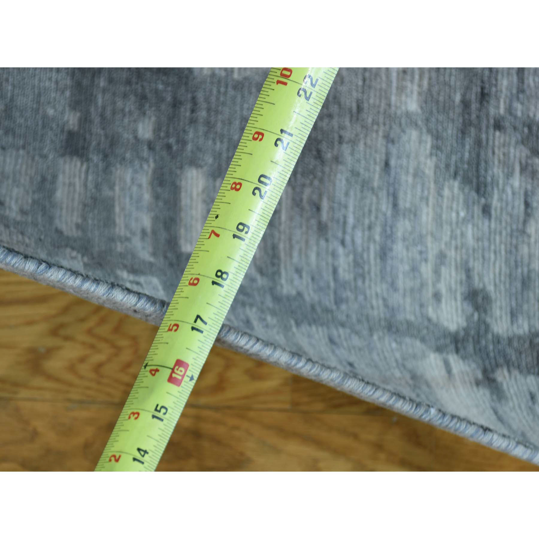 5-x7-4  Pure Undyed Natural Hand Spun Wool Hand-Knotted Modern Rug