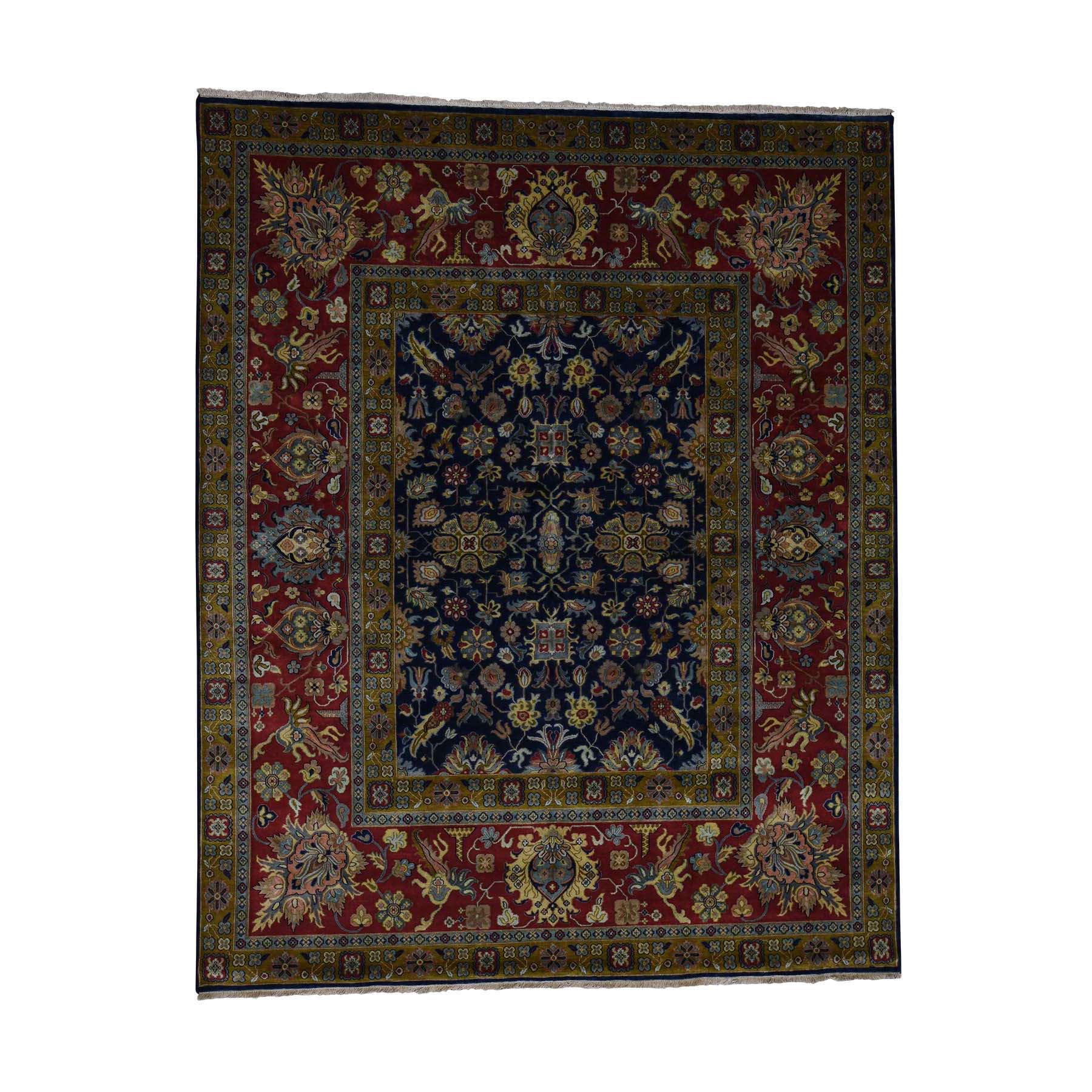 9'1''X12'2'' 300Kpsi New Zealand Wool Hand-Knotted Oriental Rug moac7b0d