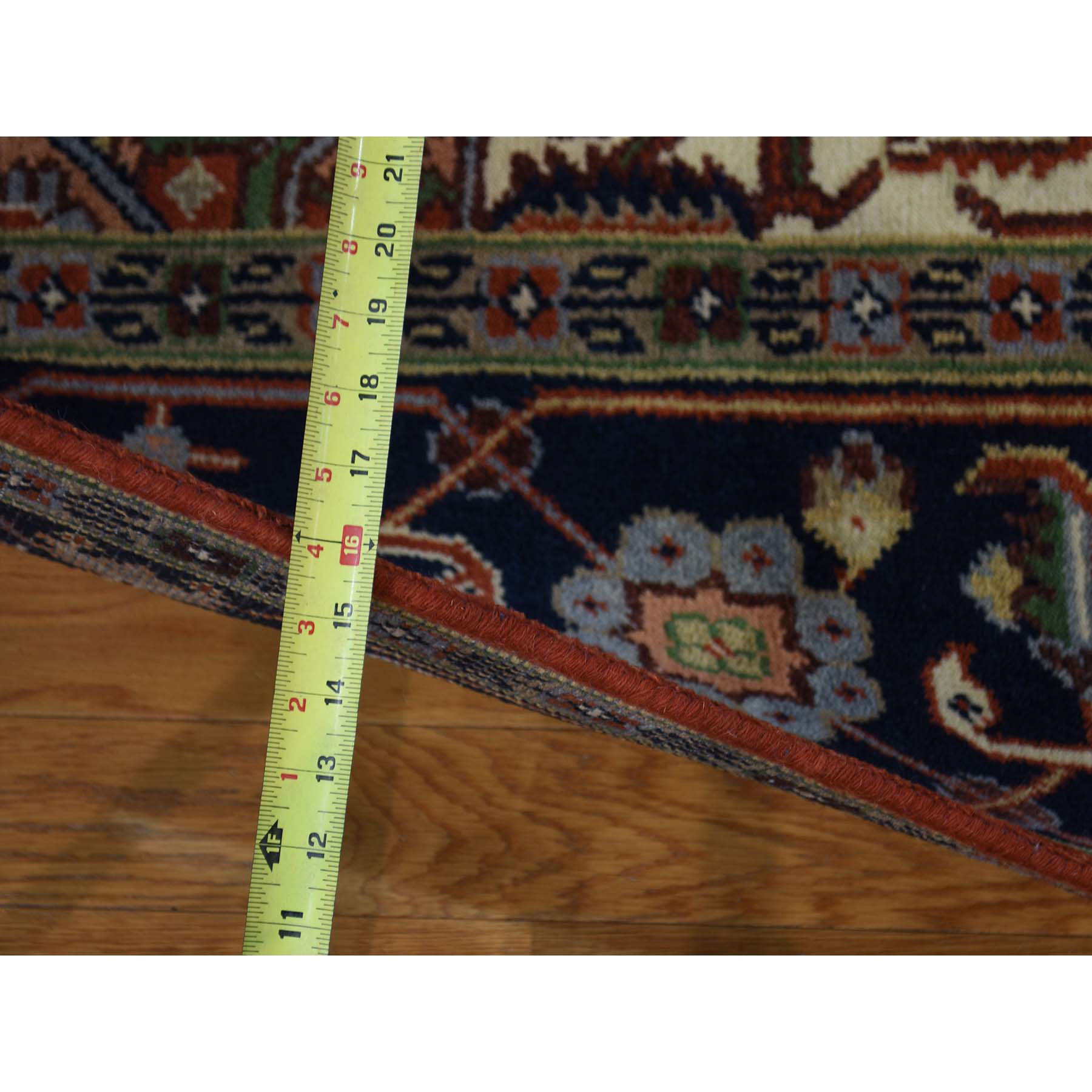 8-10--x11-10-- Pure Wool Hand-Knotted Serapi Heriz Design Persian Rug