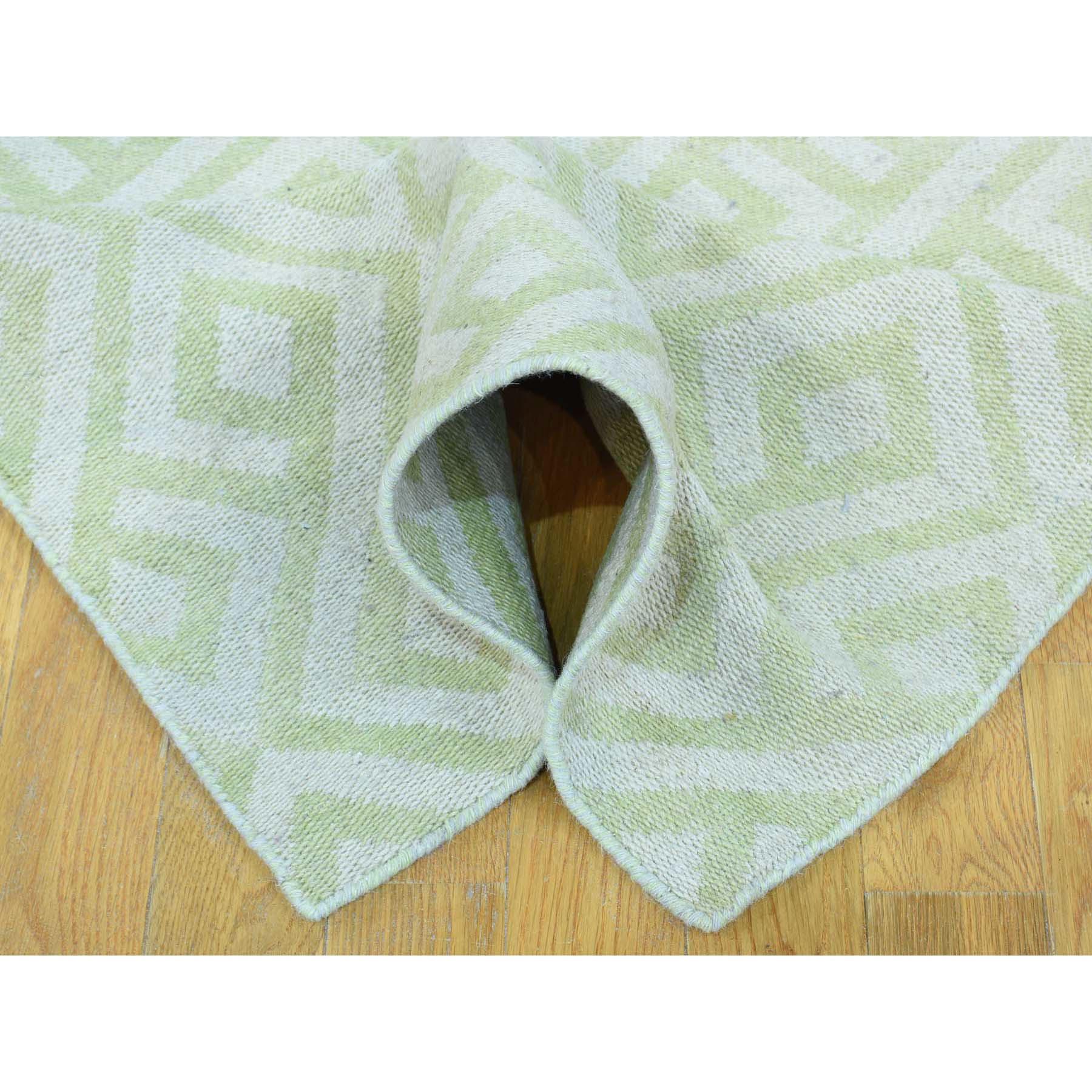 2-6--x10- Hand-Woven Flat Weave Reversible Durie Kilim Runner Rug