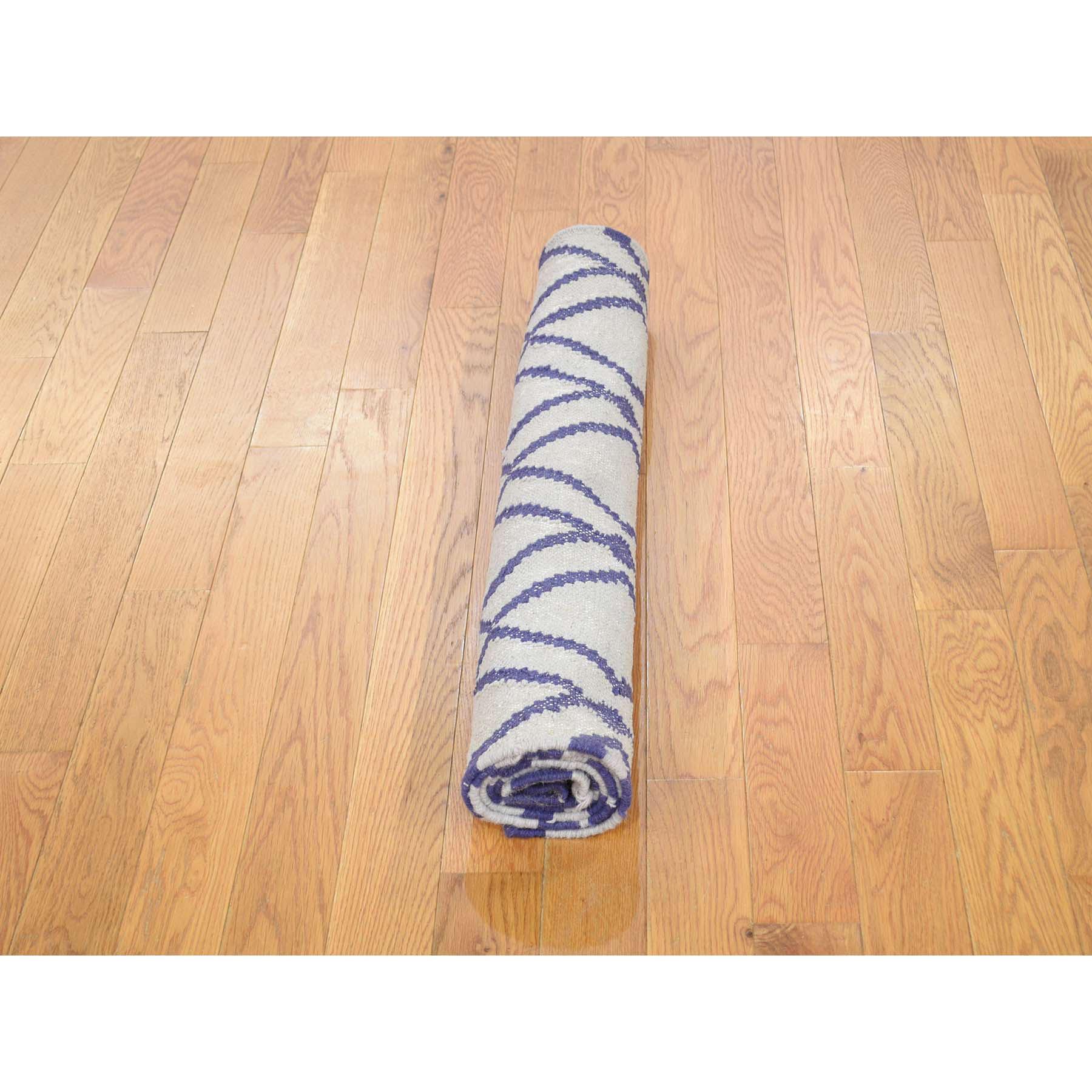 2-6--x6- Hand Woven Runner Durie Kilim Flat Weave Reversible Rug