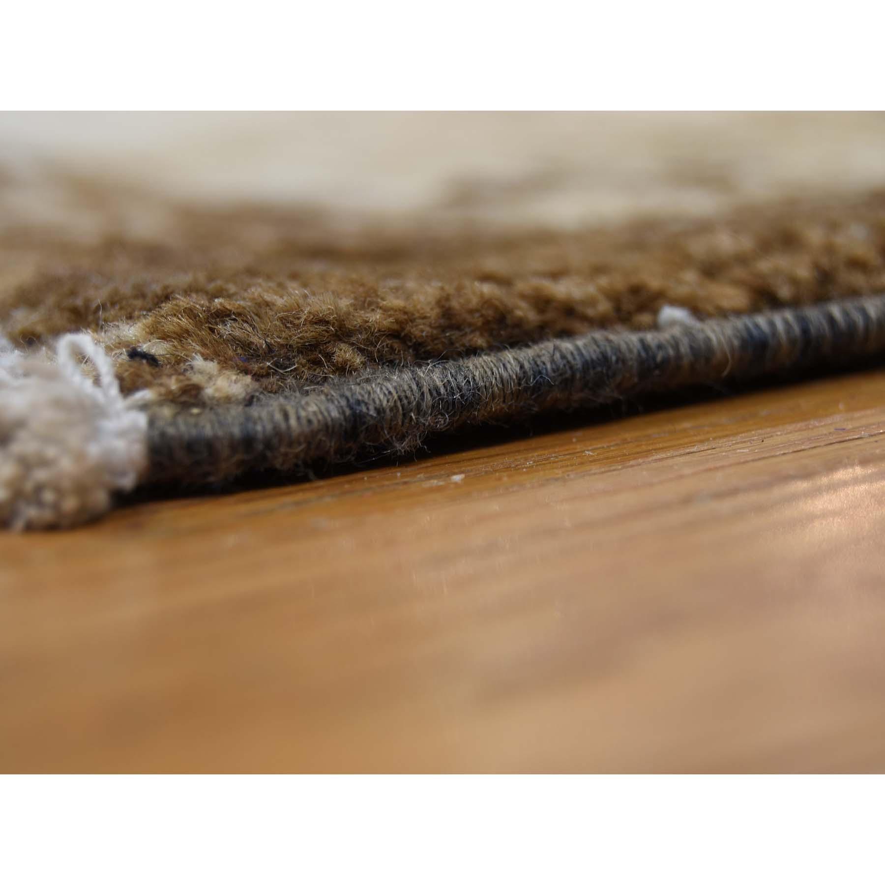 9-4--x12-4-- Hand Knotted Peshawar with Abrash Design Oriental Rug