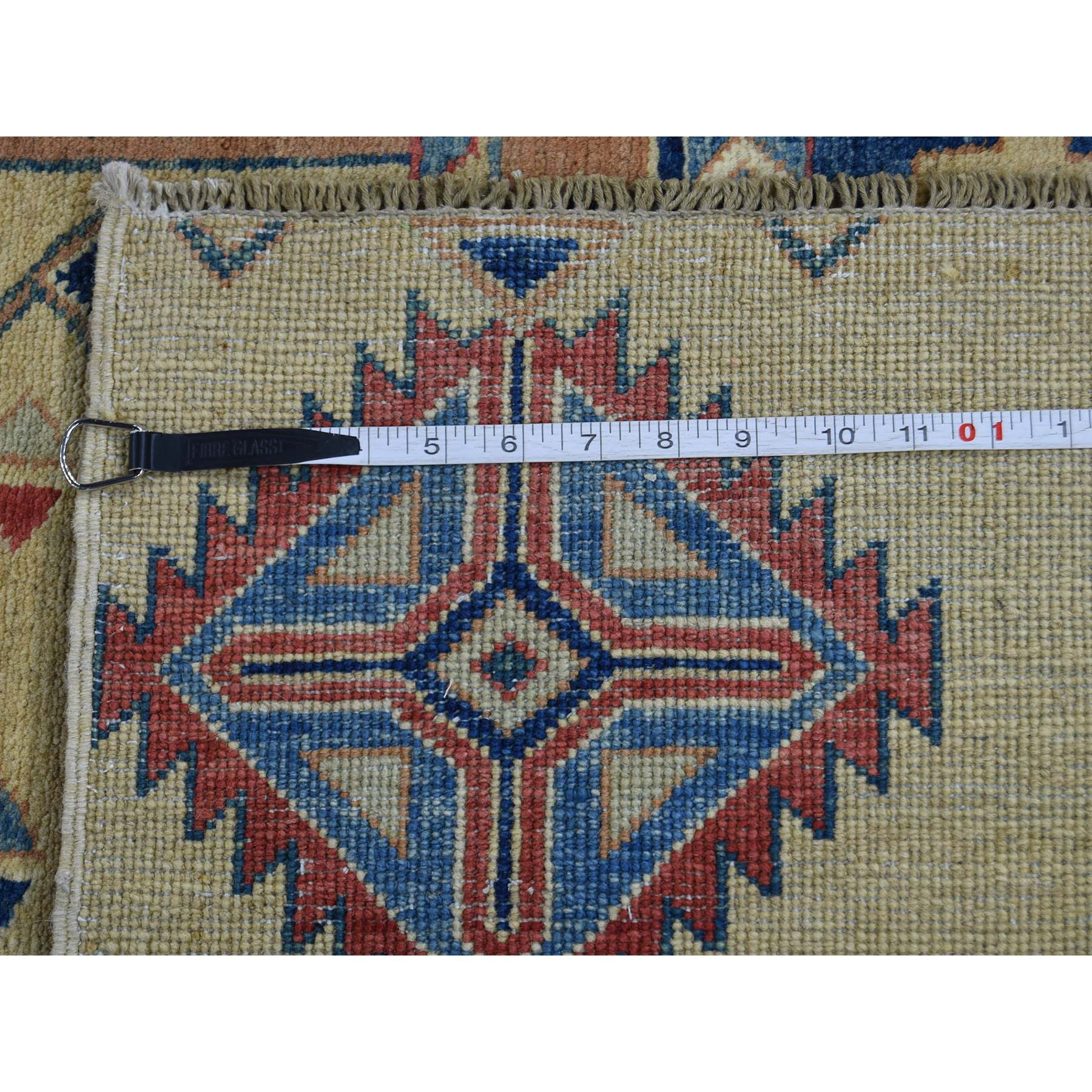 8-x9-10-- Special Kazak With Southwestern Design Beige Hand-Knotted Rug