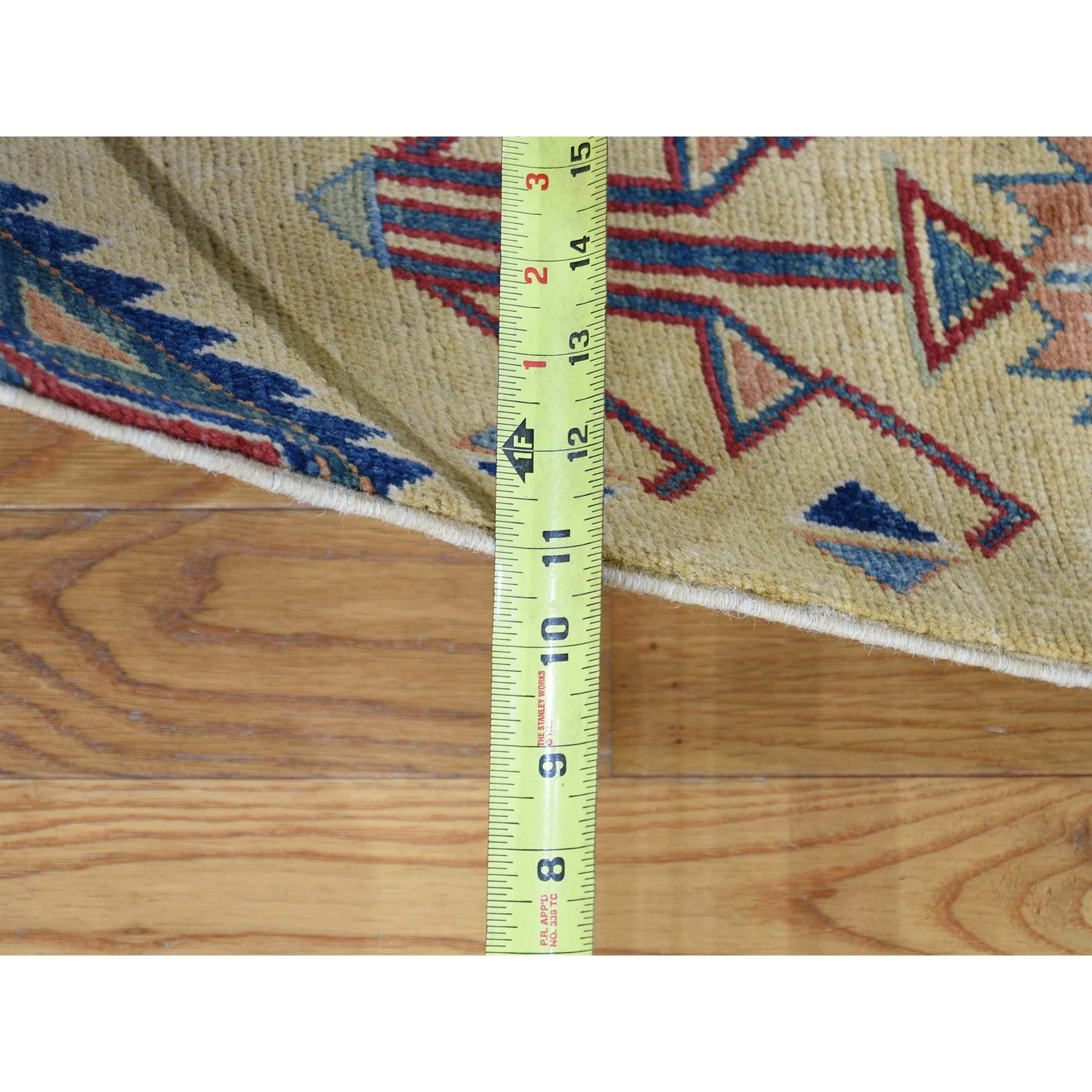 6-1--x9-1-- Special Kazak With Southwestern Design Hand-Knotted Oriental Rug