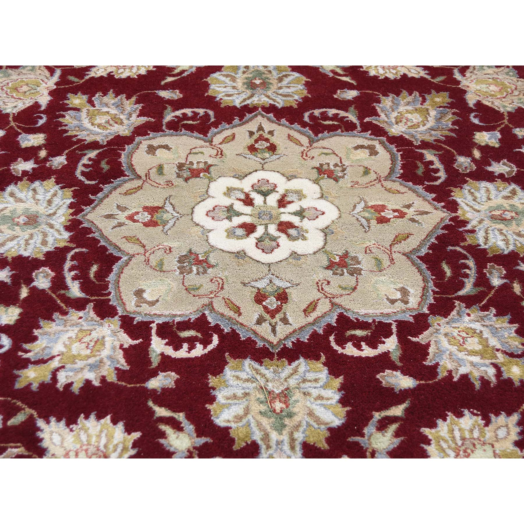8-1 x11-6  300 Kpsi Kashan Wool and Silk Hand Knotted Oriental Rug