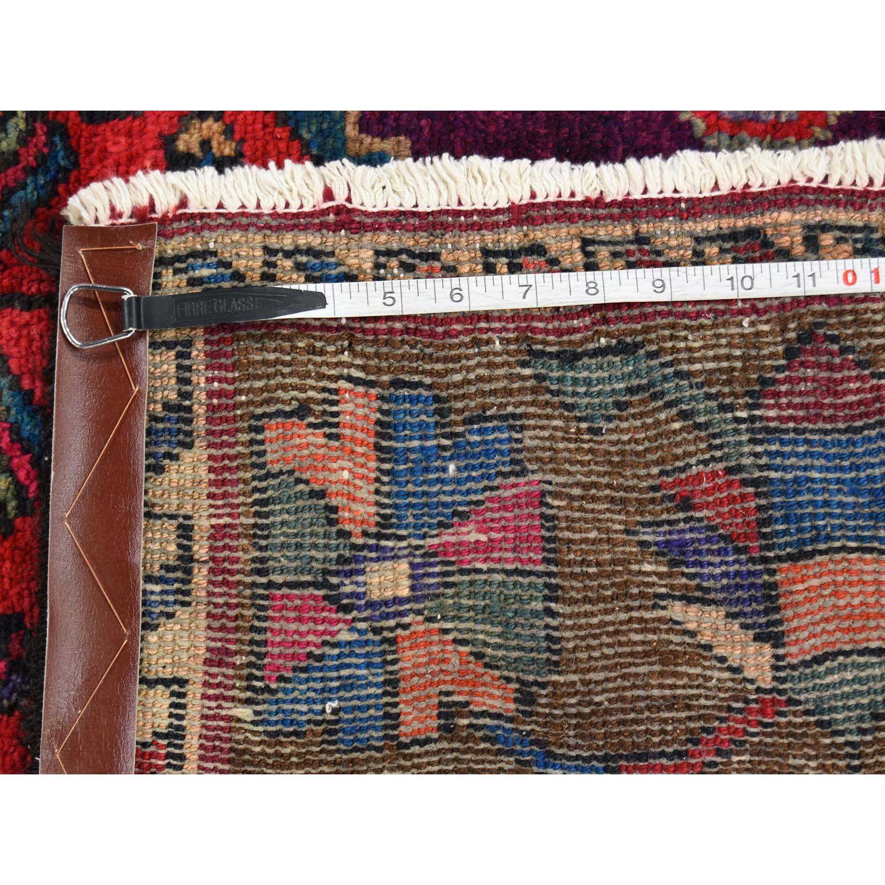 5-4 x10-9  Hand-Knotted Bakhtiari Semi Antique Garden Design Wide Runner Oriental Rug