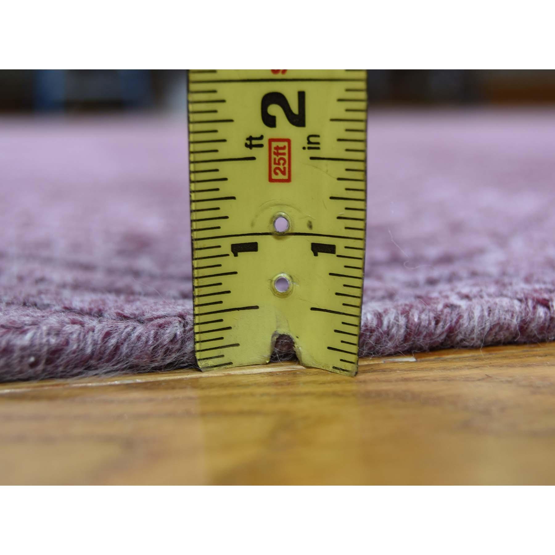 9-x12- Hand-Loomed Pure Wool Tone on Tone Oriental Rug