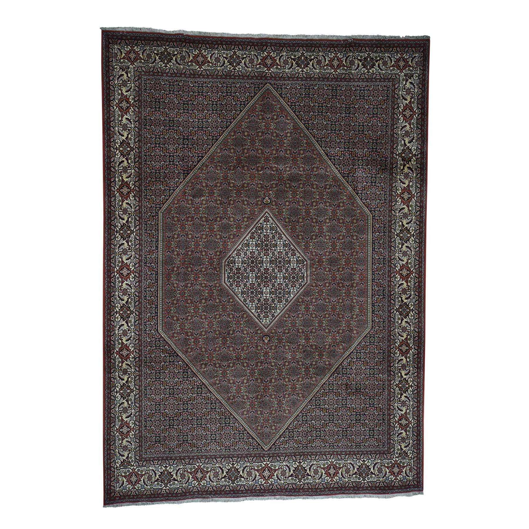 """8'3""""X11'8"""" Hand-Knotted 100 Percent Wool New Persian Bijar 300 Kpsi Oriental Rug moad00dc"""