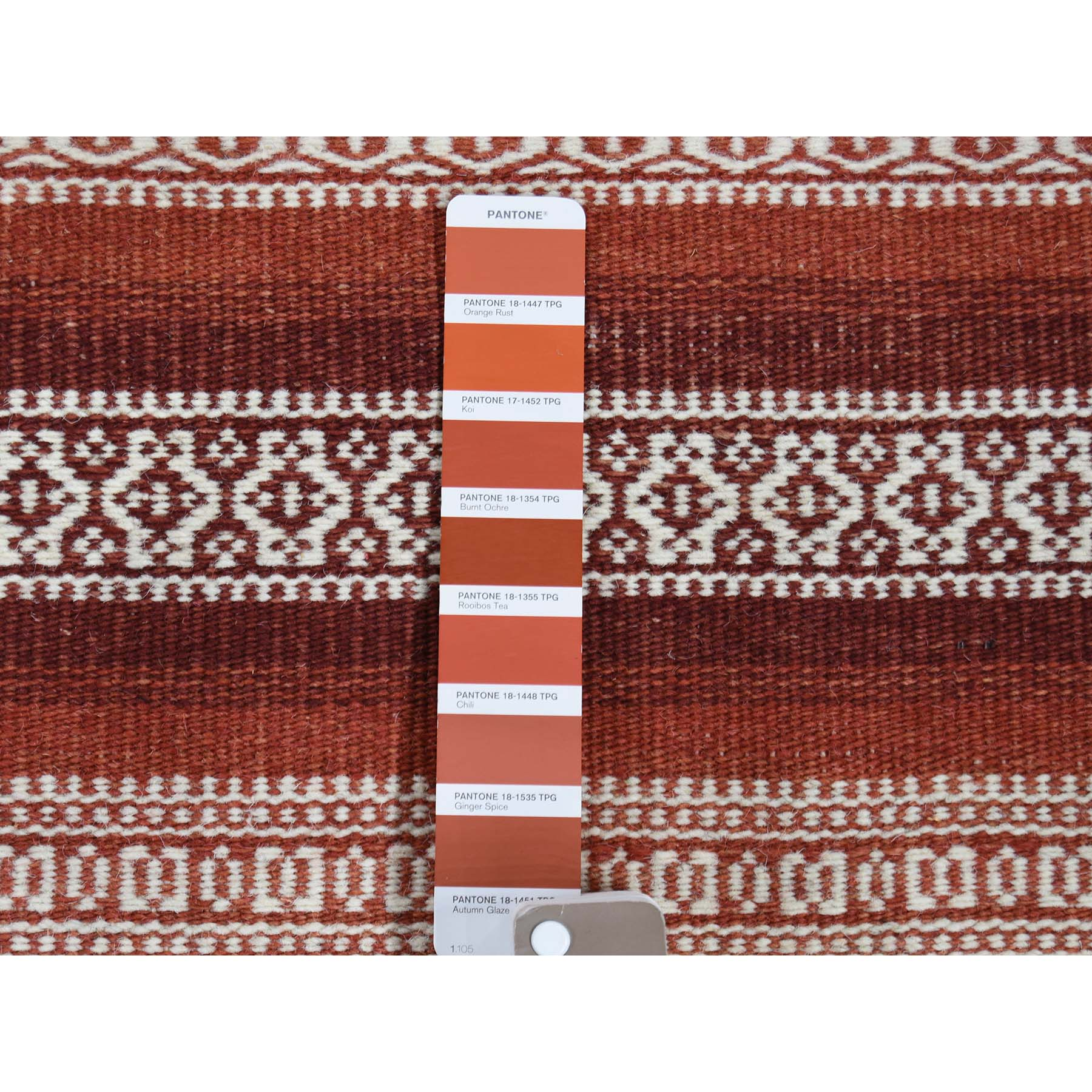 2-10 x5- Hand Woven Flat Weave Striped Design Durie Kilim Oriental Rug