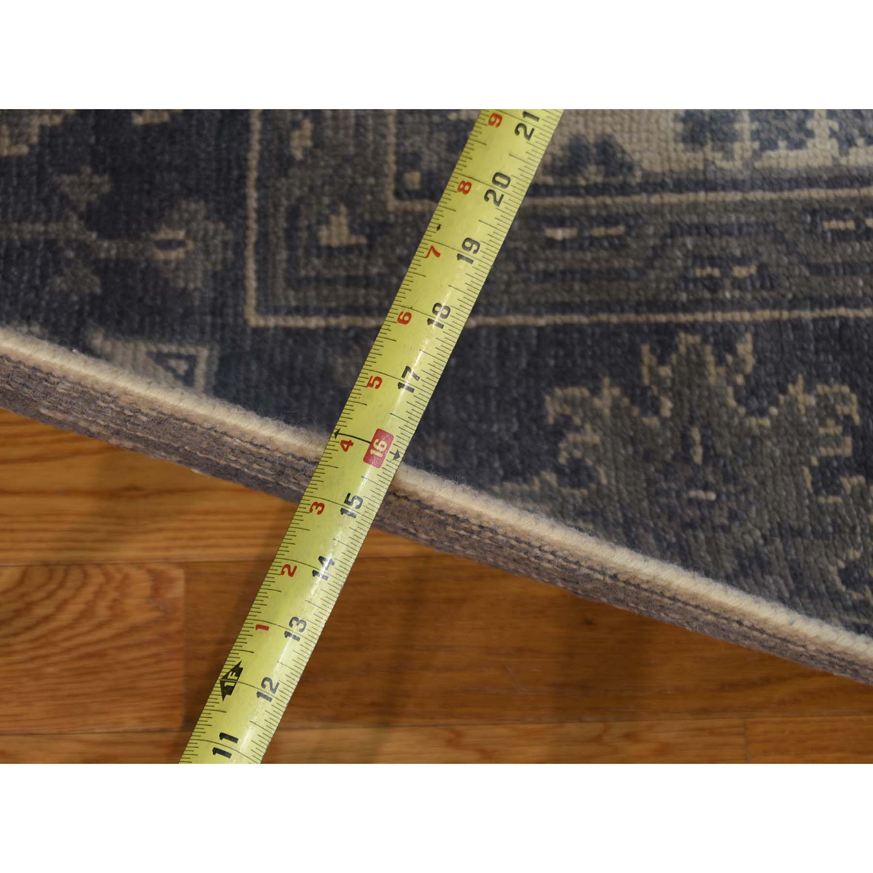 8-1 x9-10  Hand-Knotted Turkish Knot Oushak Pure Wool Oriental Rug