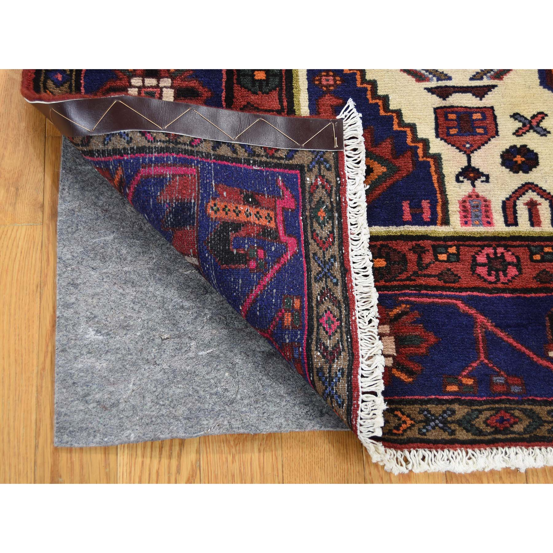 4-3 x6-5  New Persian Hadaman Hand-Knotted Pure Wool Oriental Rug