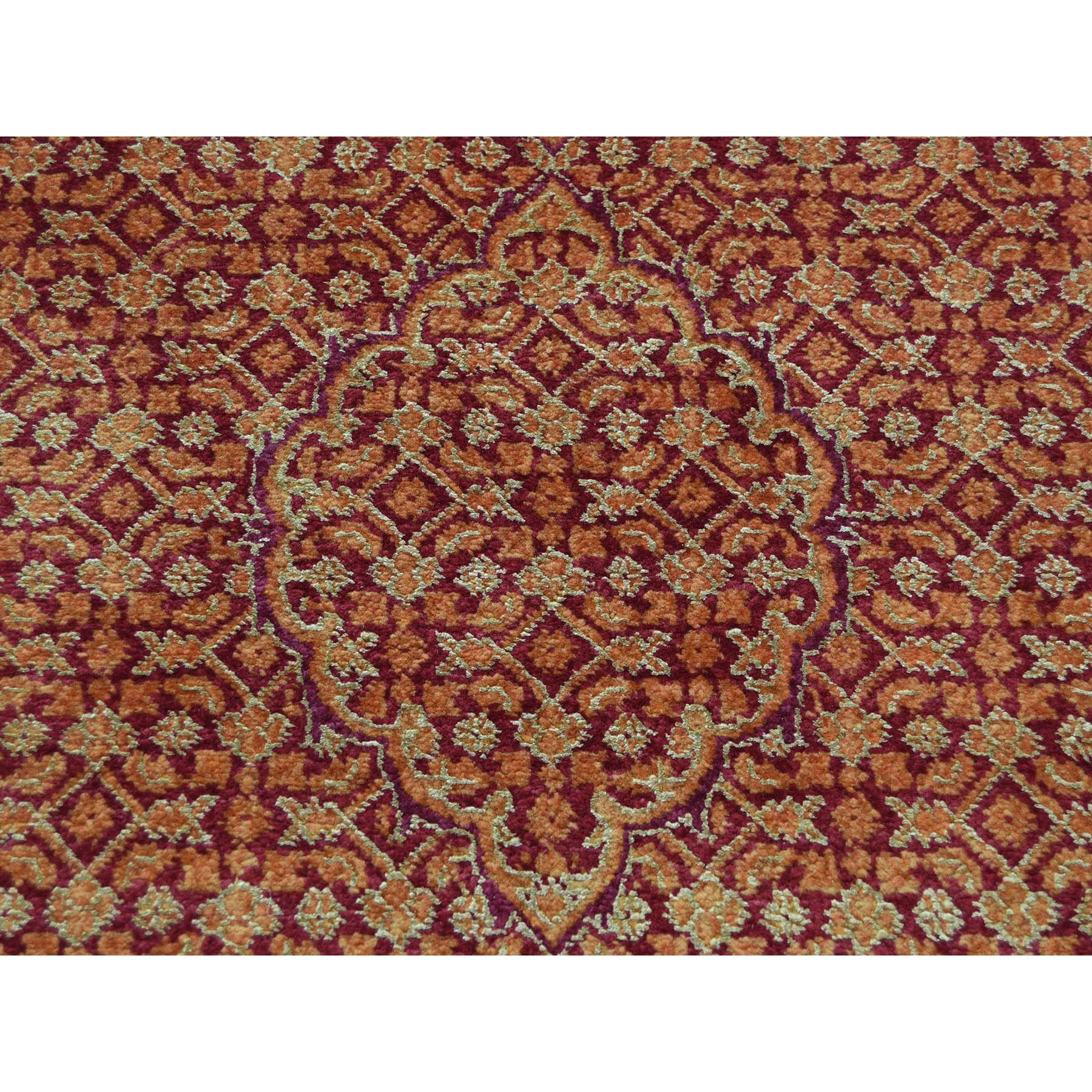 2-8 x16- Kashan Tone On Tone XL Runner Hand Knotted Oriental Rug