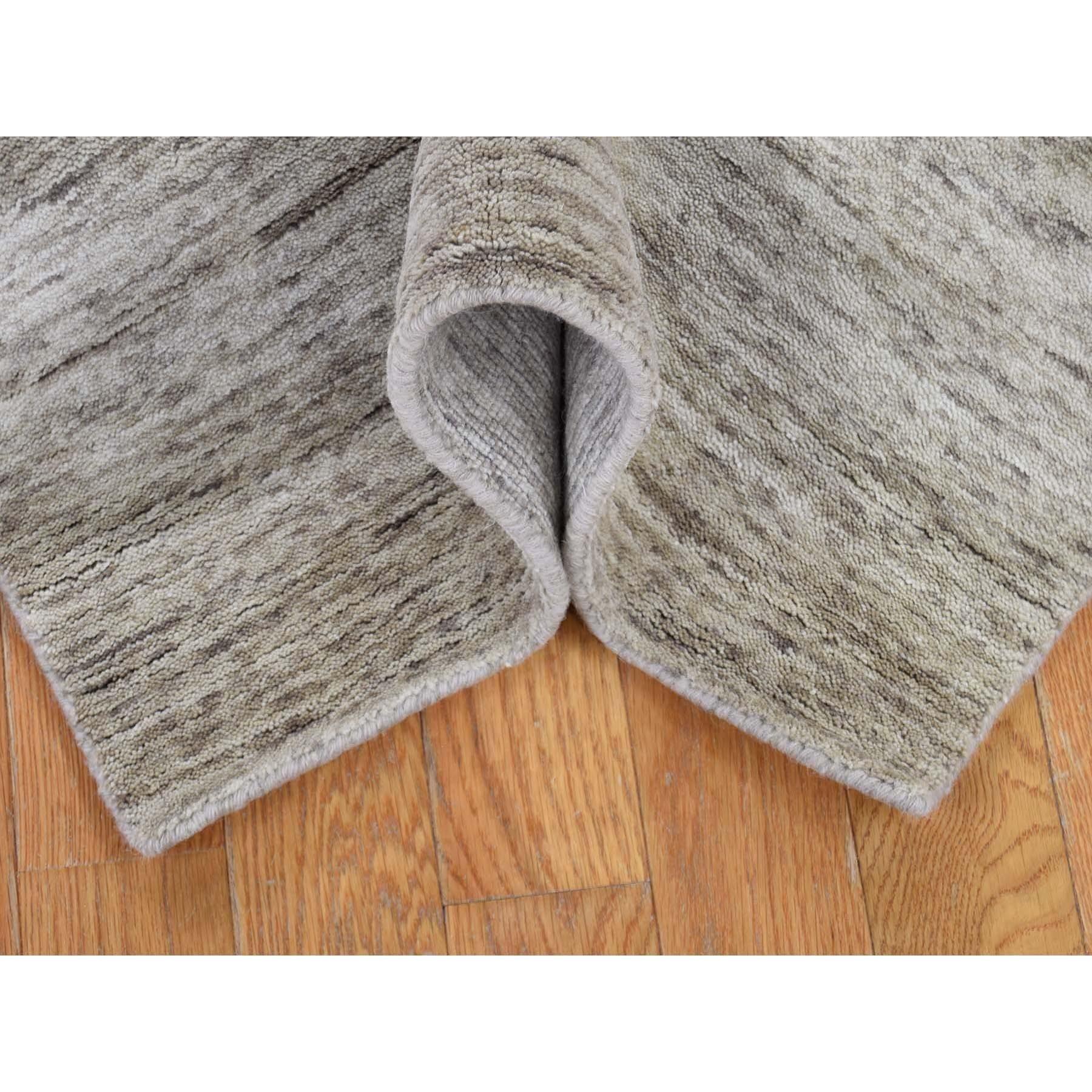 2-7 x18-2  Hand-Loomed Pure Wool Gabbeh XL Runner Oriental Rug