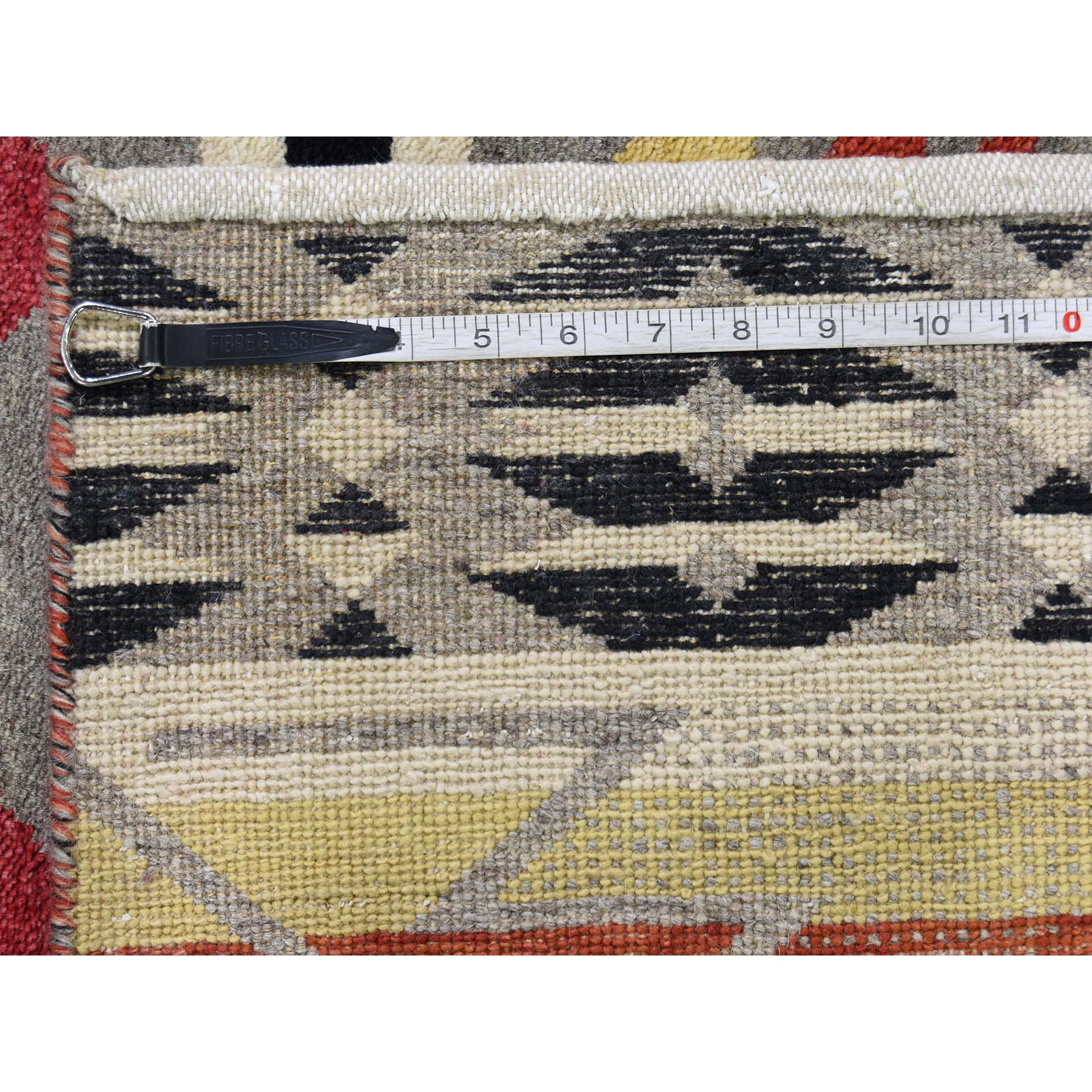 8-10 x12- Hand-Knotted Berber Motifs Design Pure Wool Hand Knotted Oriental Rug