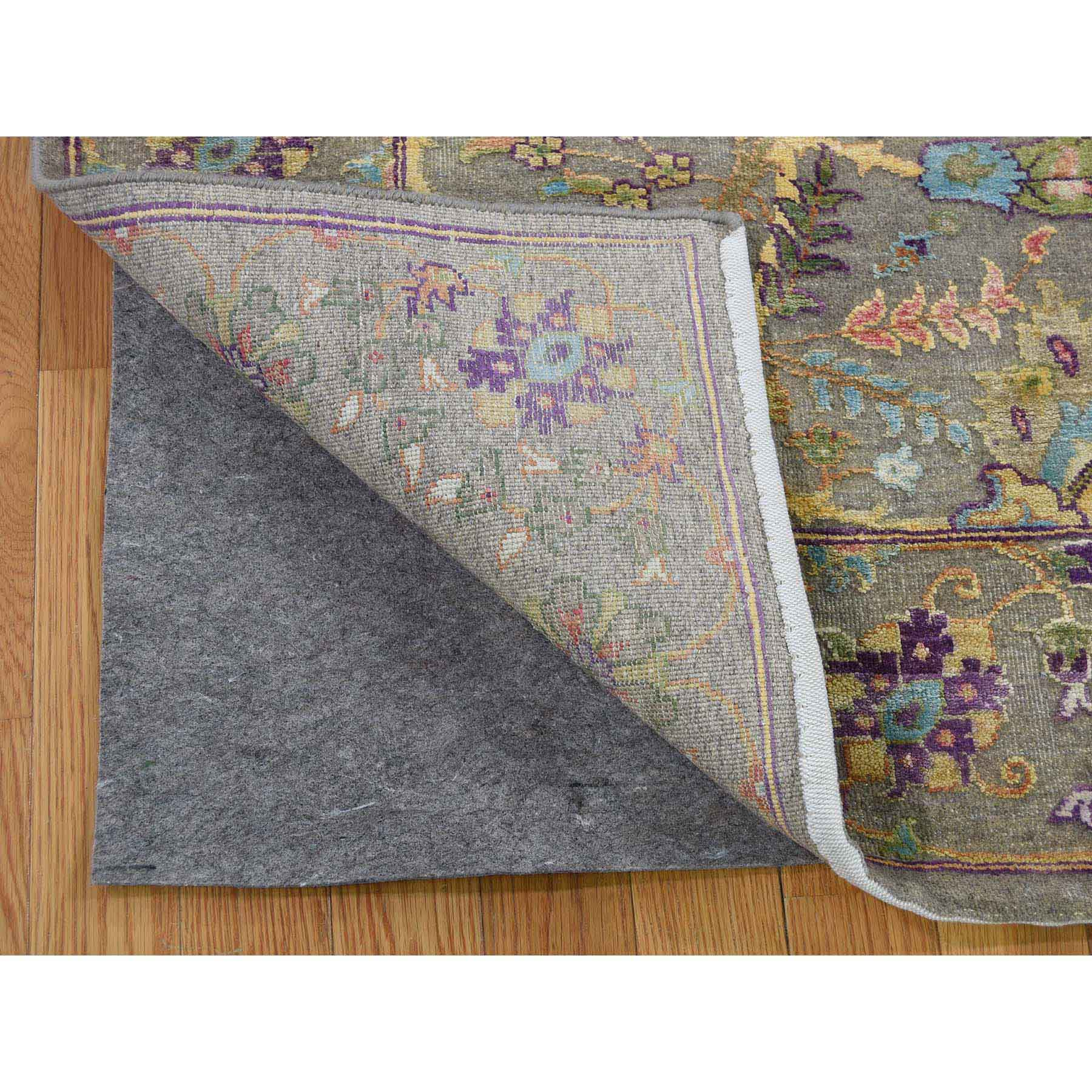 8-8 x11-2  Overdyed Persian Pure Wool Hand-Knotted Village Rug