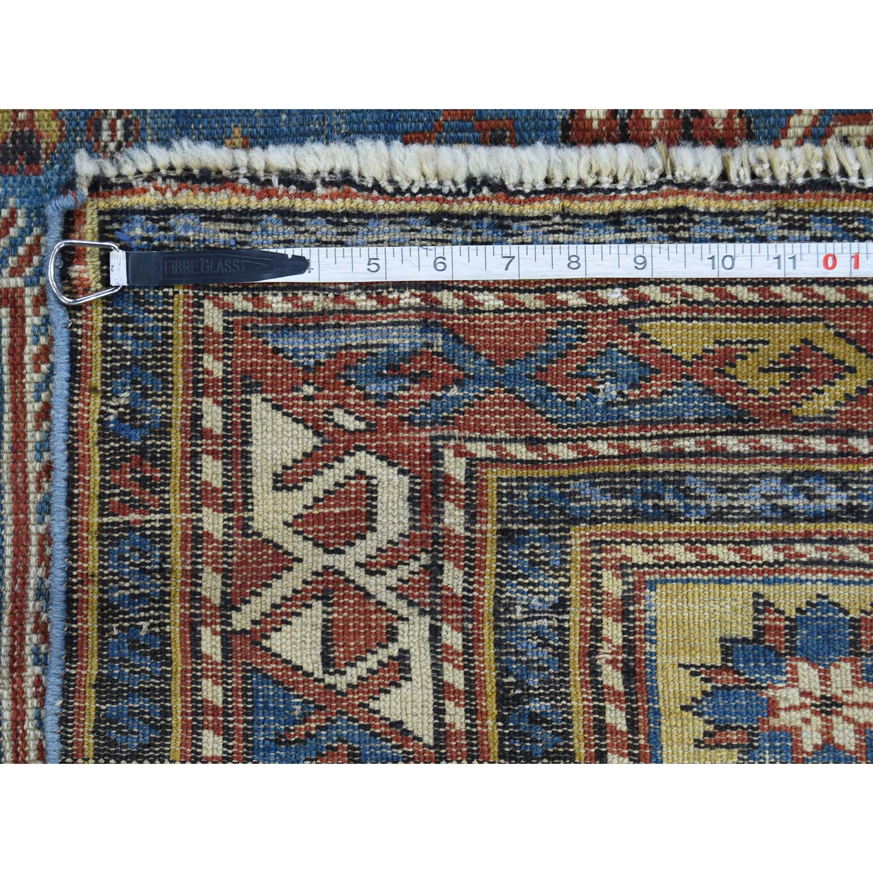 3-10 x6-3  Antique Caucasian Kazak Even Wear Hand Knotted Oriental Rug