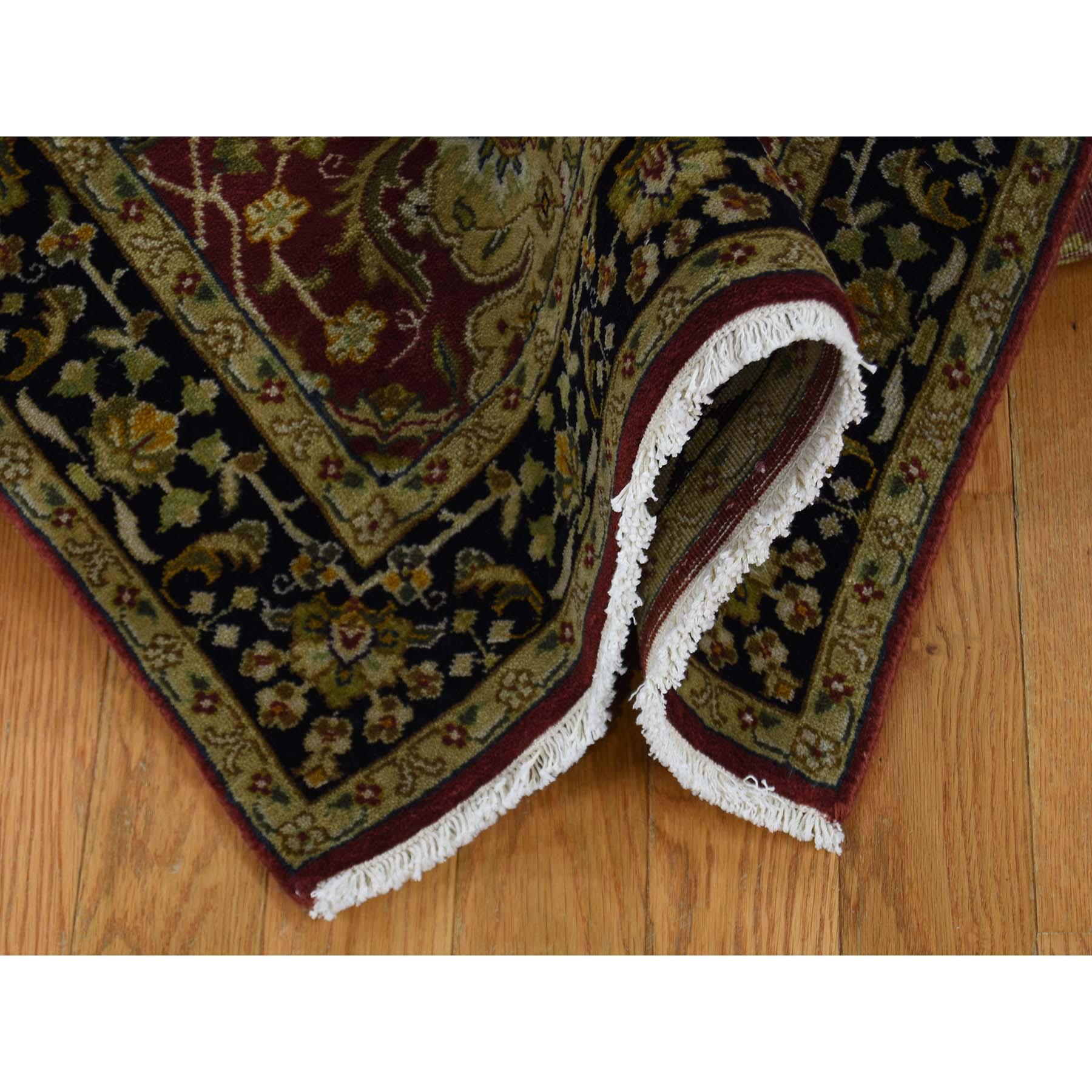 2-6 x12- Runner 300 KPSI Kashan Revival New Zealand Wool Oriental Rug